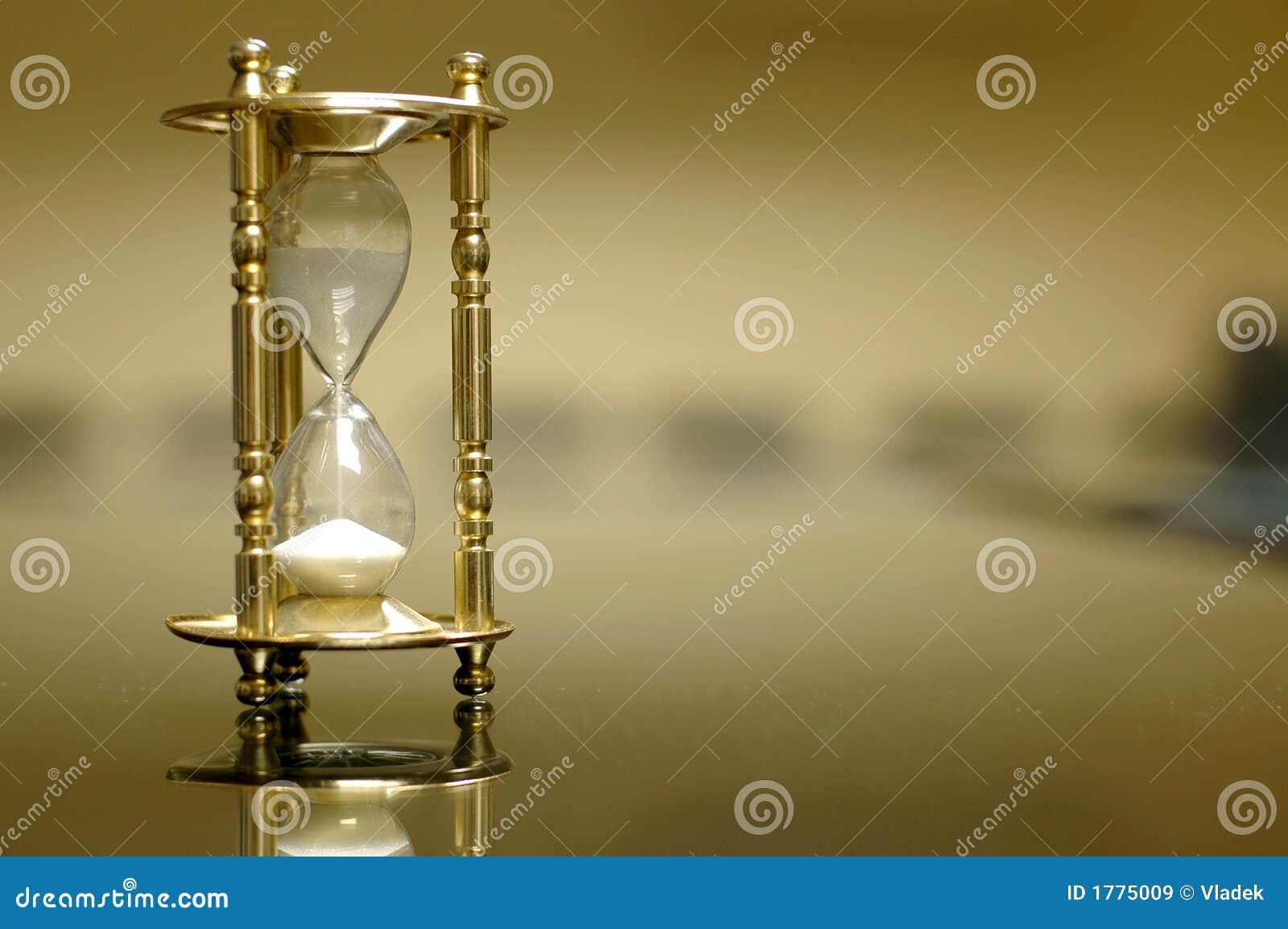 Zegar deskowego pusty pokój piasku