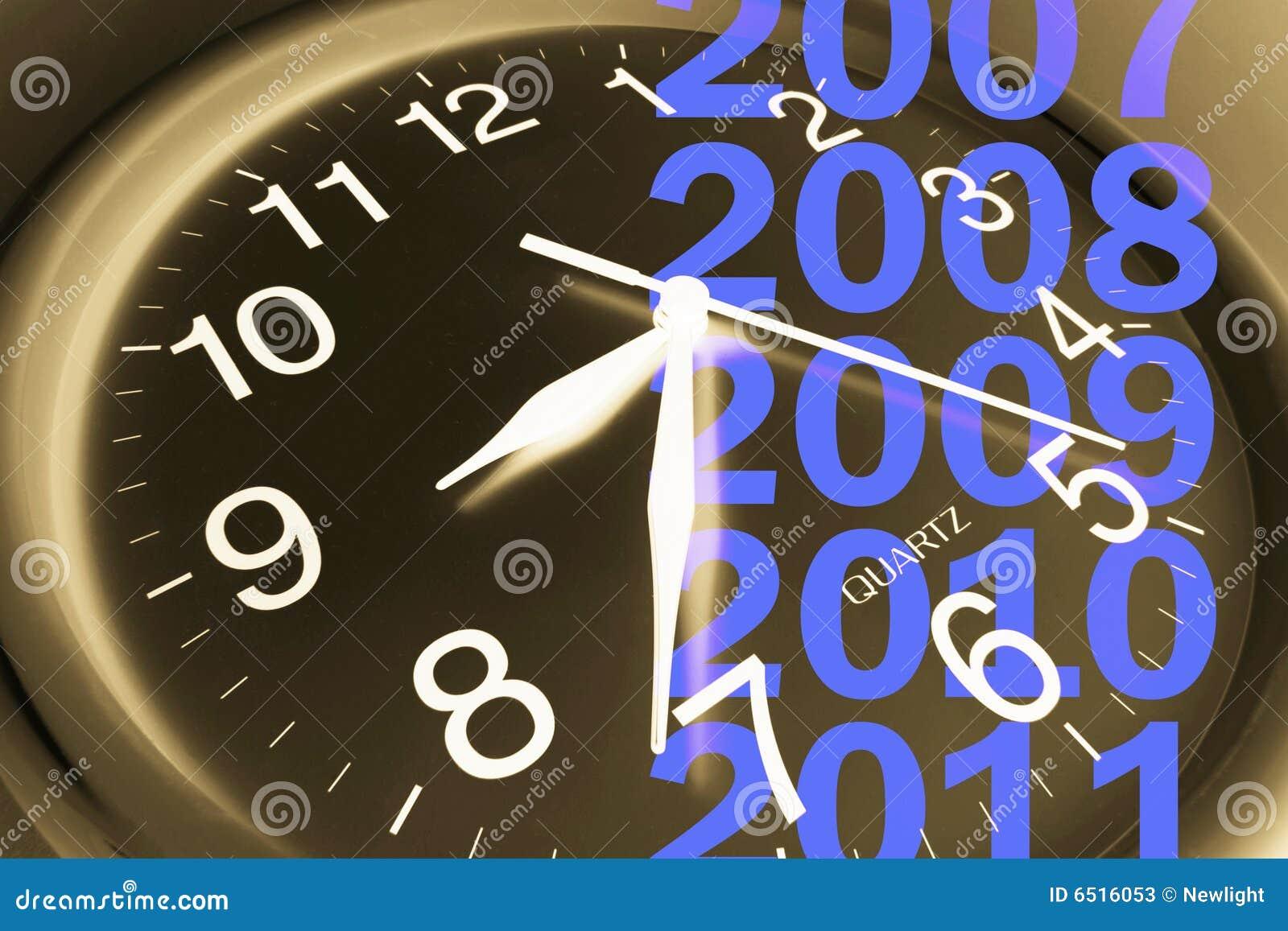 Zegarowi ścienni rok