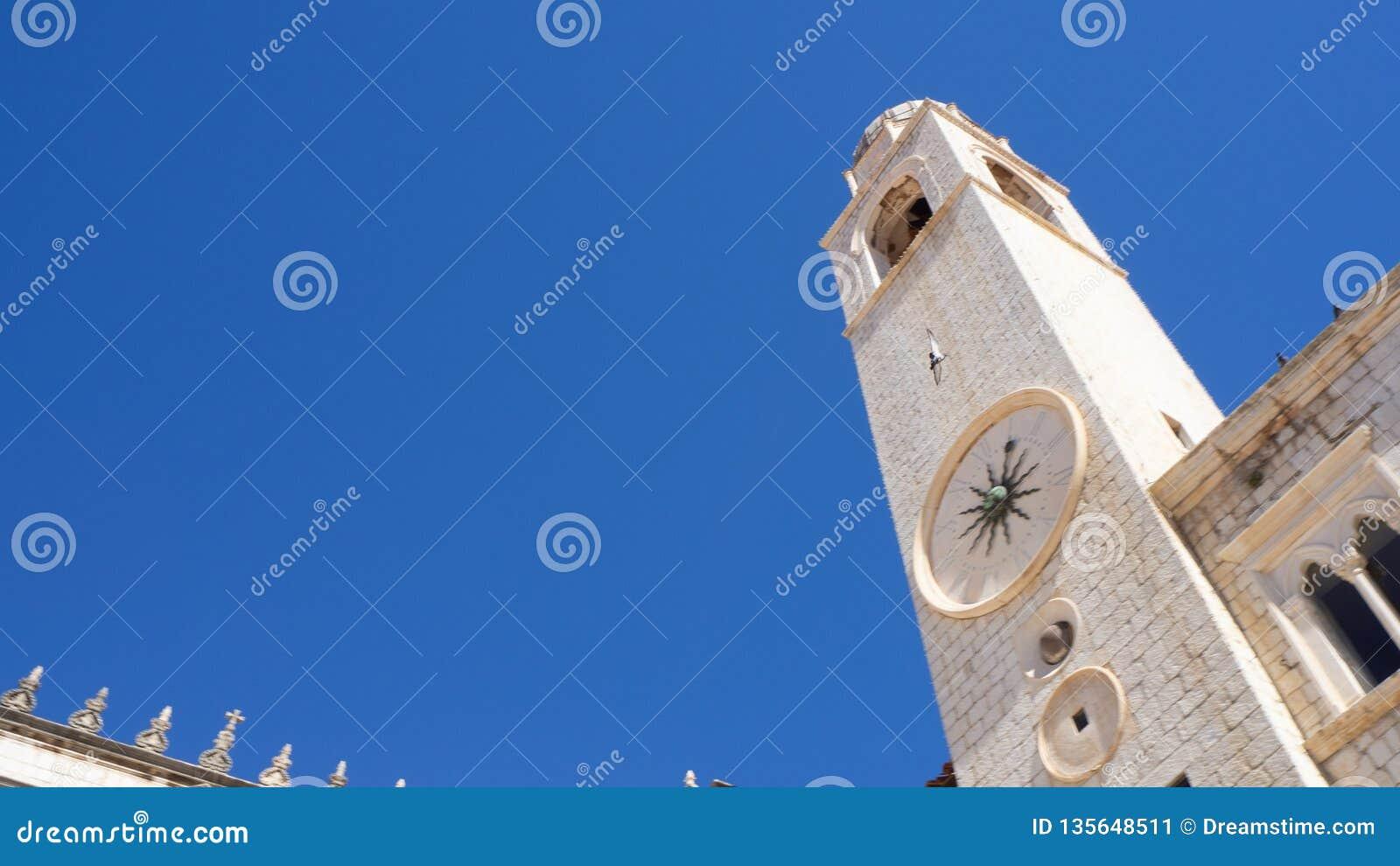 Zegarowy wierza Dubrovnik