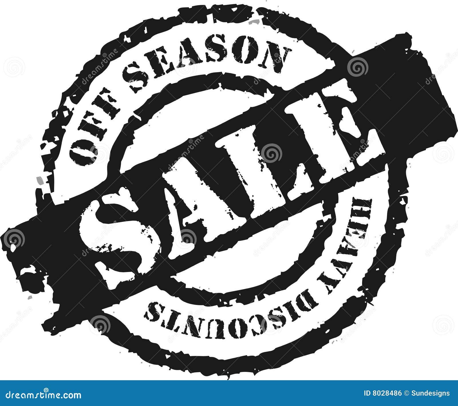 Zegel 39 van de verkoop 39 39 van het seizoen stock illustratie afbeelding 8028486 - Zinkt de verkoop ...