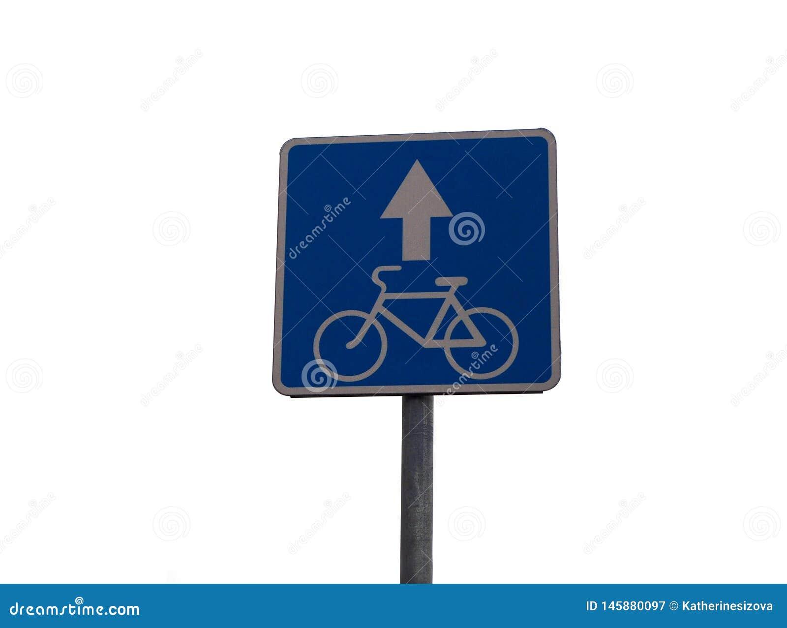 Zeichen, Bewegung auf einem Fahrrad erlaubend