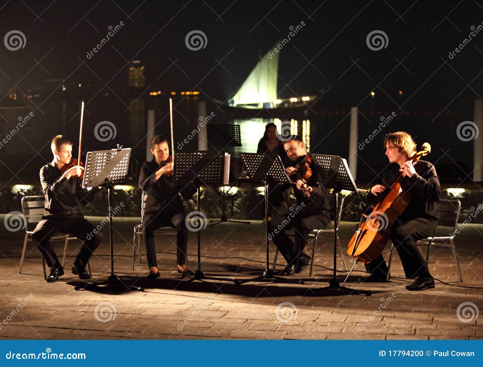 Zeichenkette-Quartett in Doha