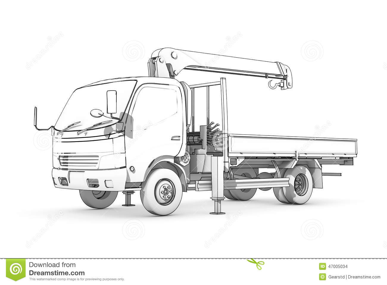 Cater For Land Drawing