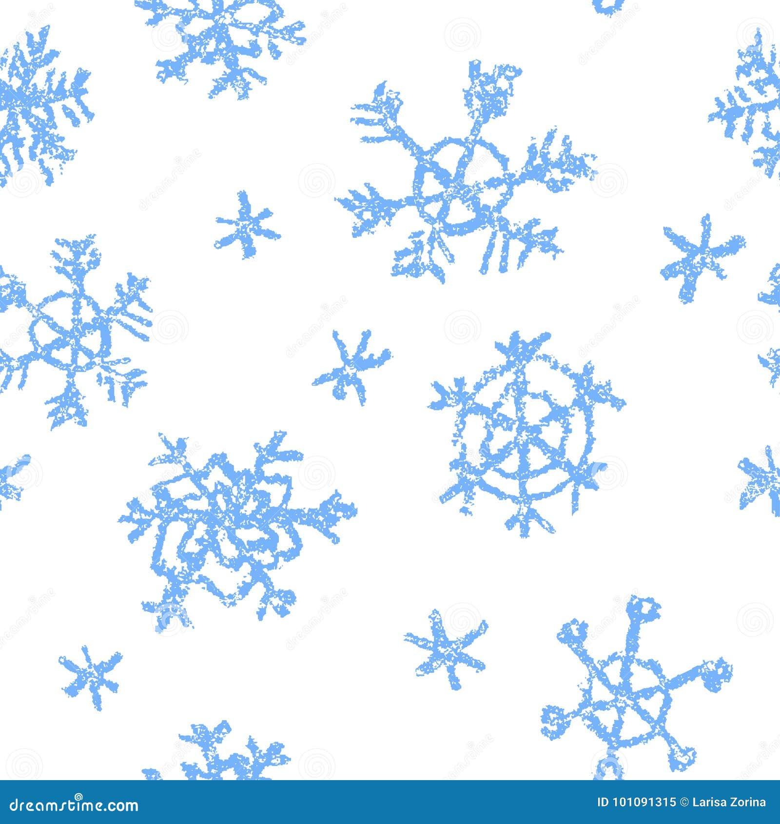 Zeichnen Sie Das Kind-` S, Das Schneeflockenmuster Der Frohen ...
