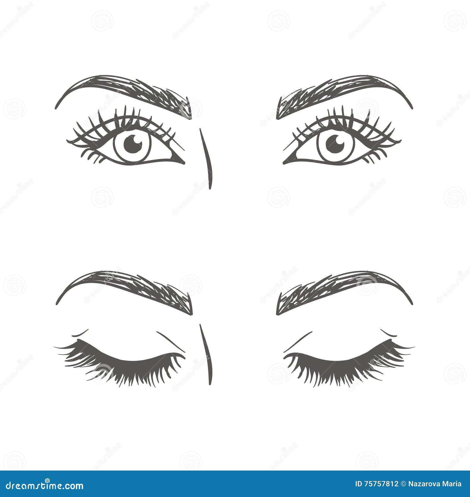 Geschlossene Augen Zeichnen Tiere Zeichnen 2020 05 20