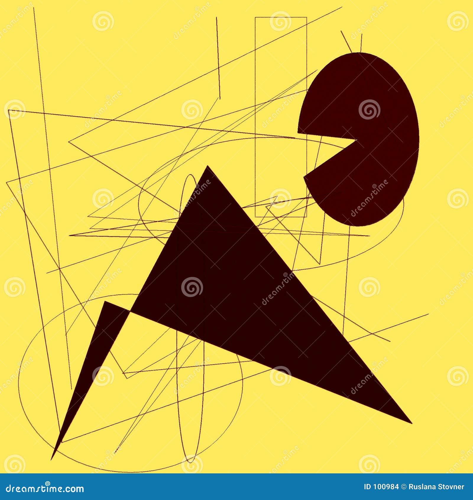 Zeichnungsauflage mit Formen