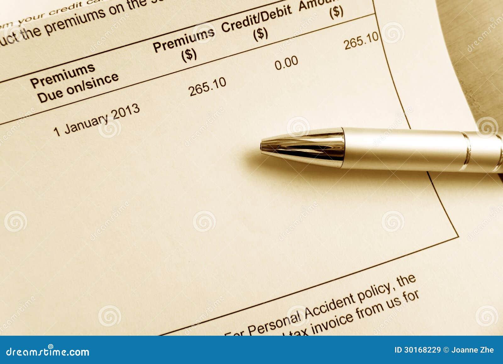 Datieren der Rechnung