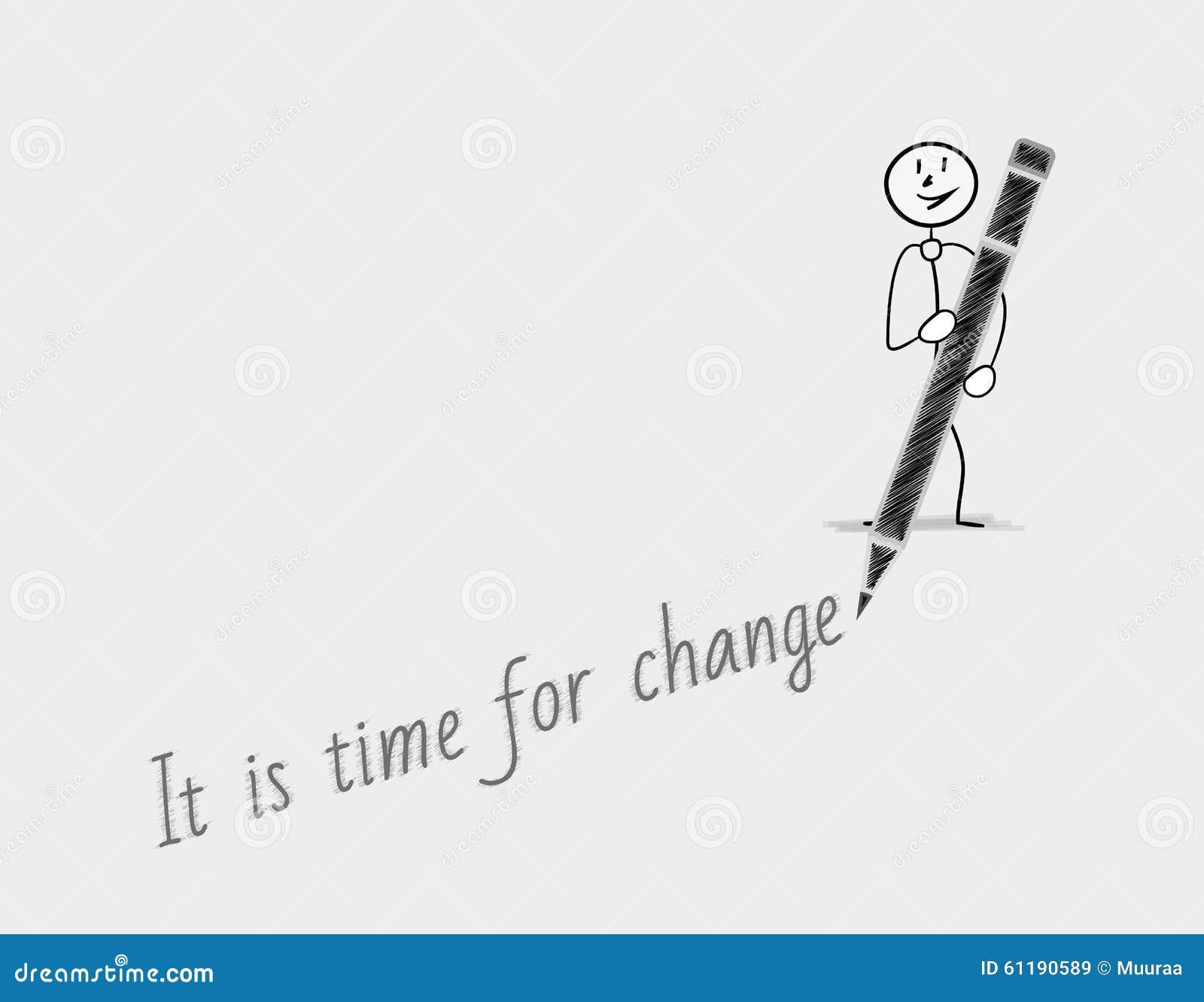 Zeit für Änderung