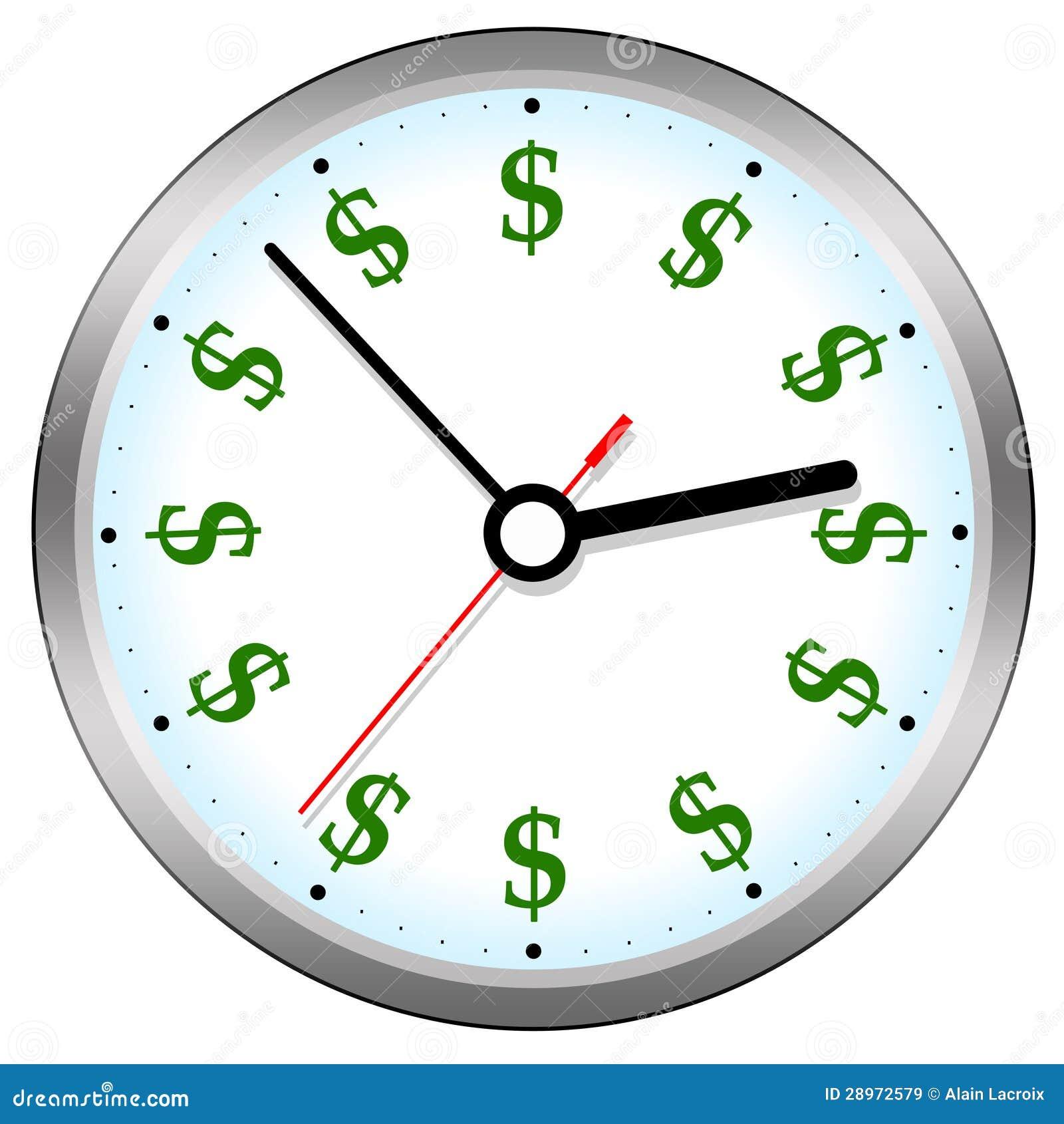 zeit ist geld stock abbildung bild von konomisch investition 28972579. Black Bedroom Furniture Sets. Home Design Ideas