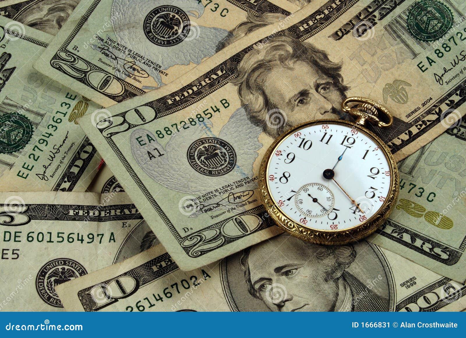 Zeit-und Geld-Konzept-Bild