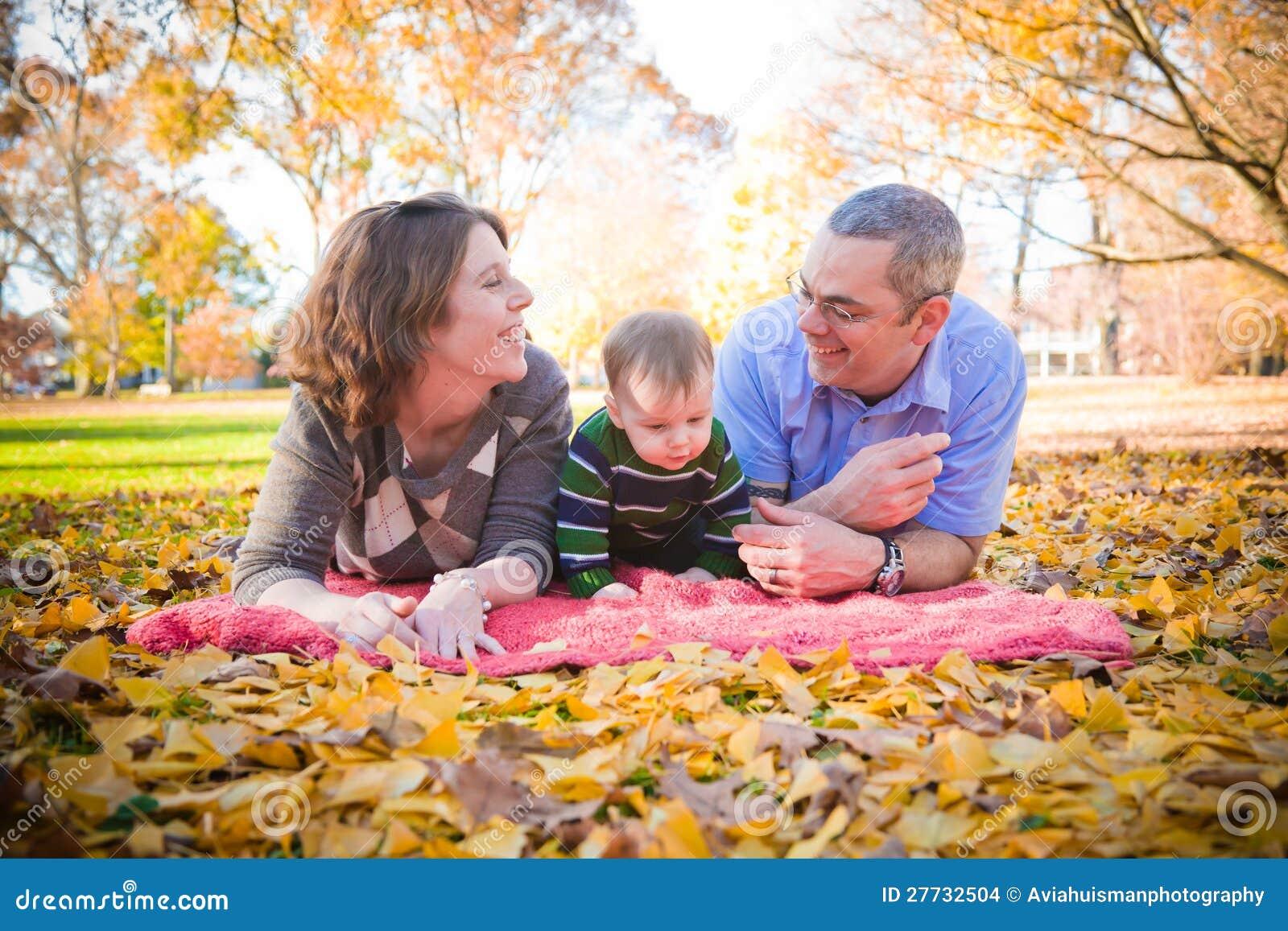 Zeit zusammen im Park