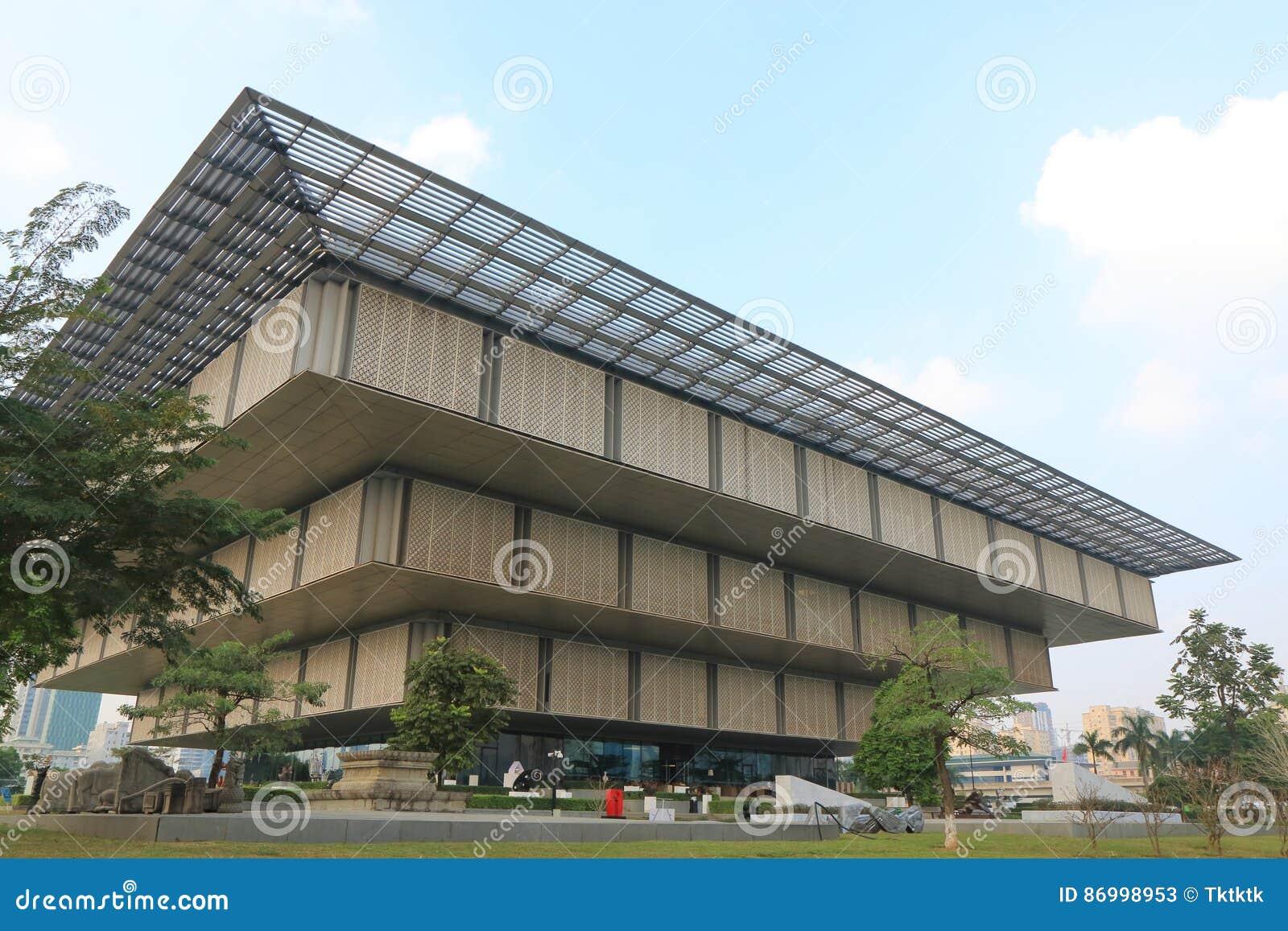 Zeitgenössische Architektur Vietnam Hanoi-Museums Redaktionelles ...