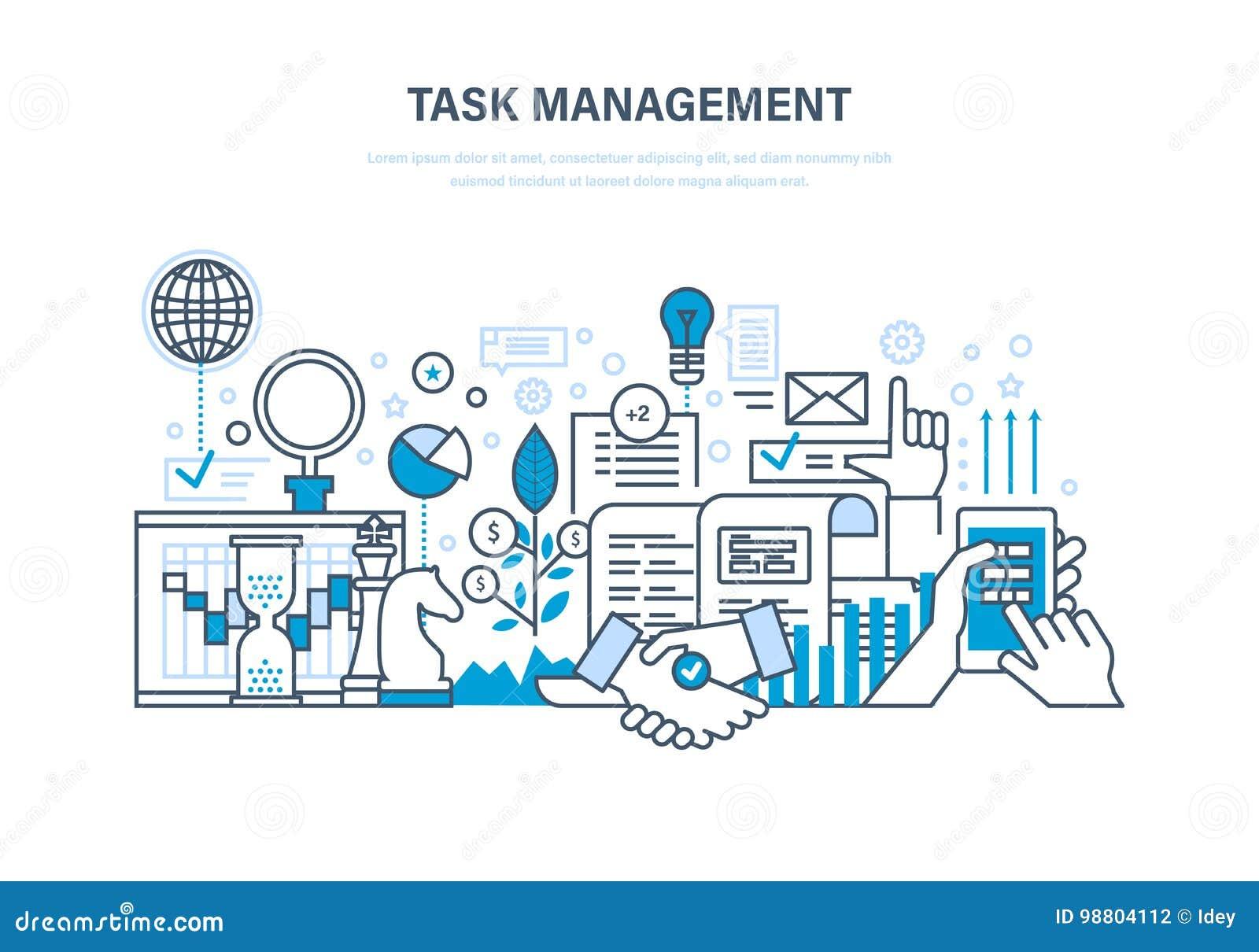 Zeitmanagement, Planung, Analyse, Forschung, Marketingstrategie Und ...