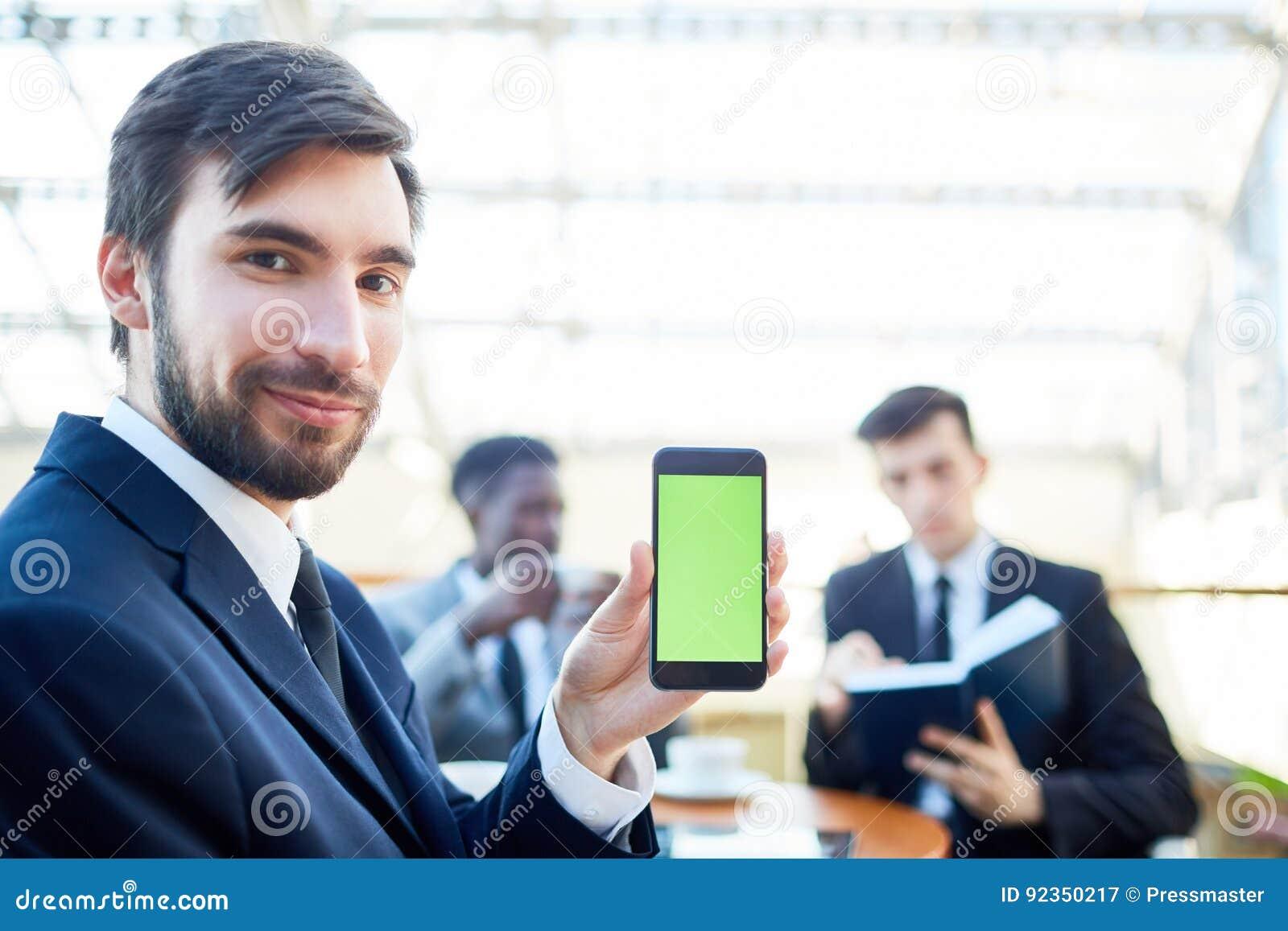 Zekere Zakenman Presenting Mobile App