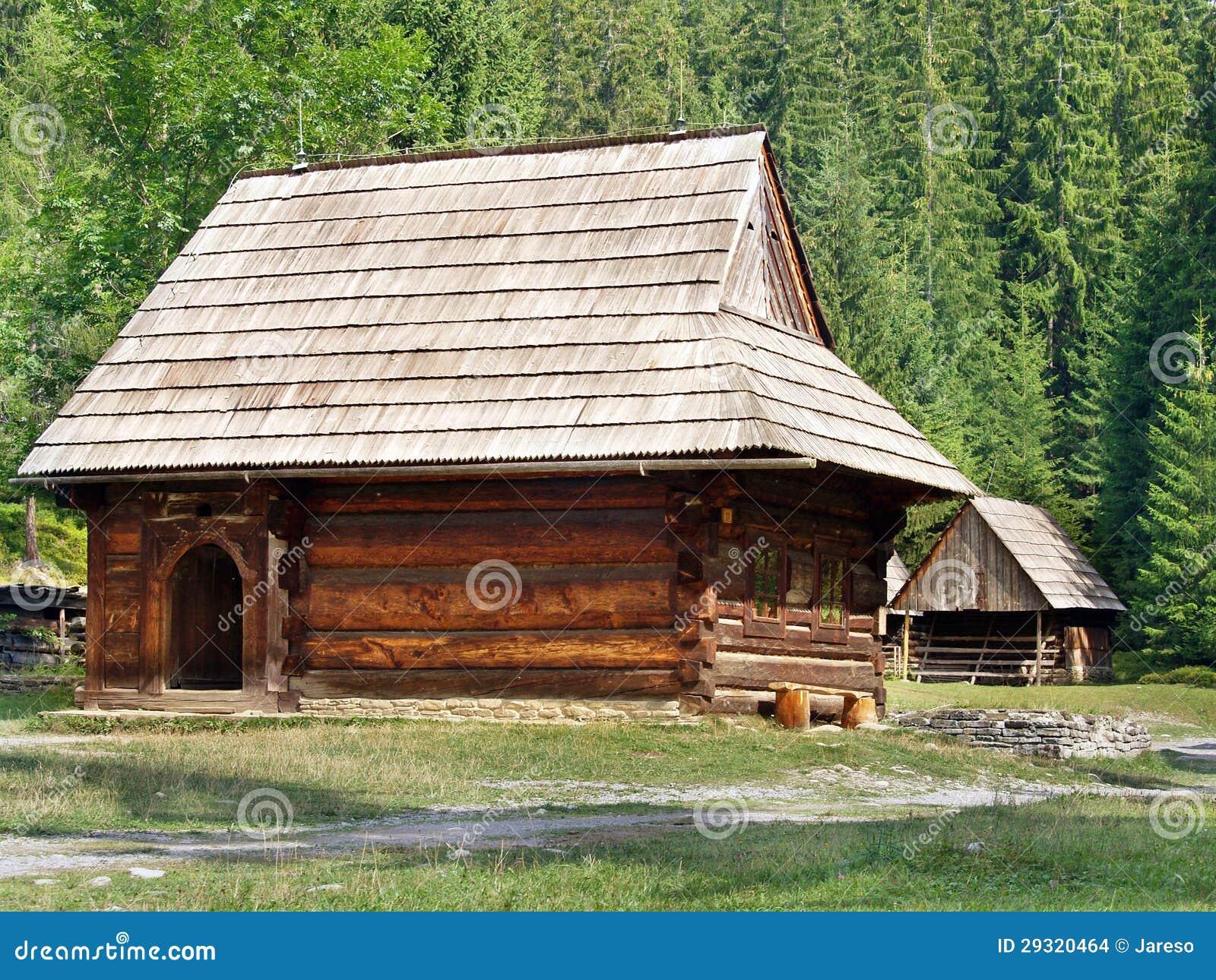 Zeldzame houten volkshuizen in Zuberec