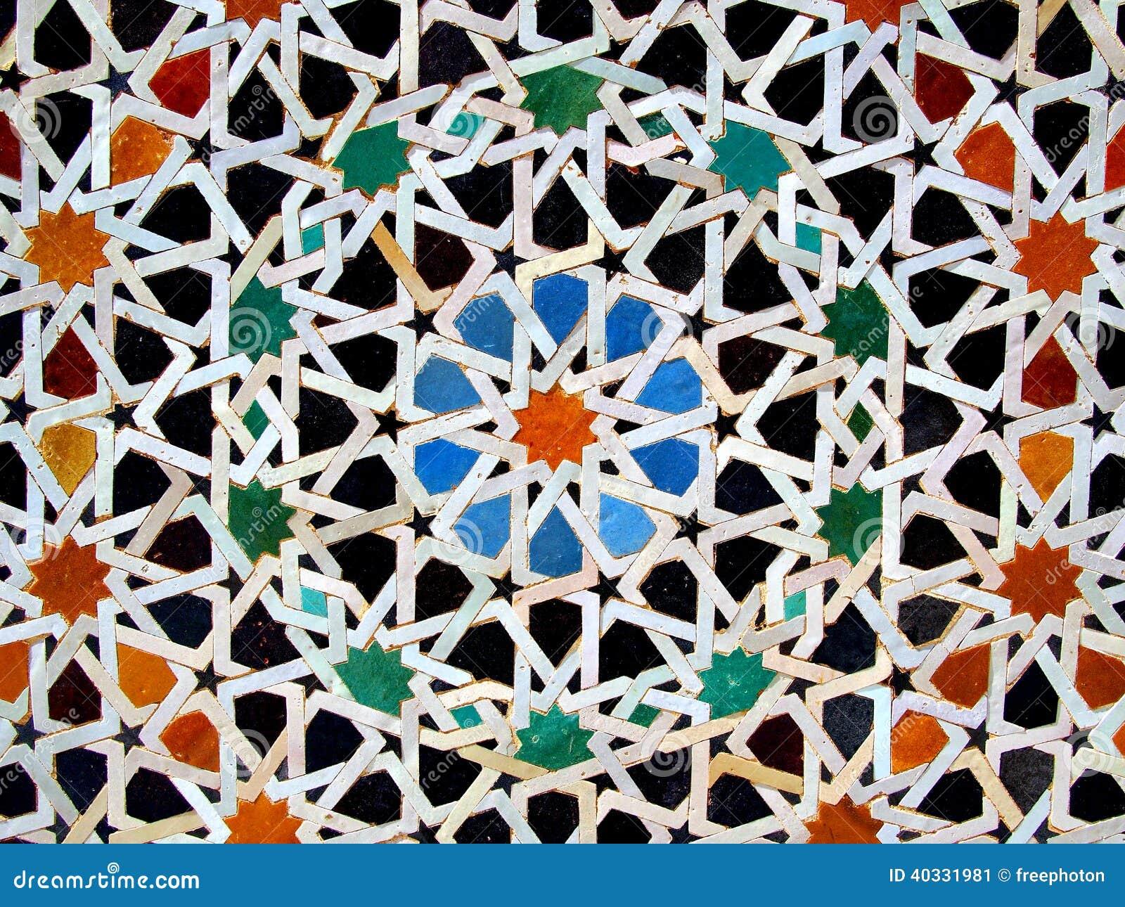 zellige tuiles de mosa que marocaines image stock image du mosa que principal 40331981. Black Bedroom Furniture Sets. Home Design Ideas