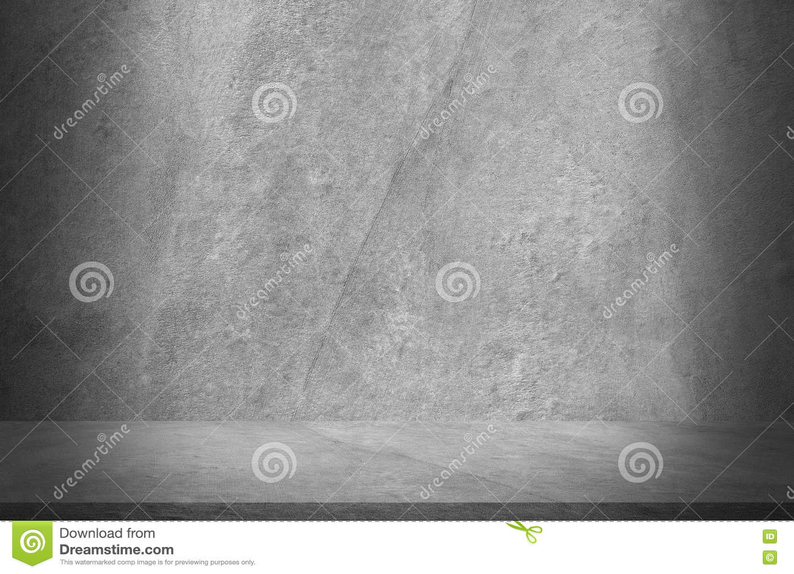 Download Zementieren Sie Wand Und Boden Mit Schatten Für Muster Und  Hintergrund Stockfoto   Bild Von