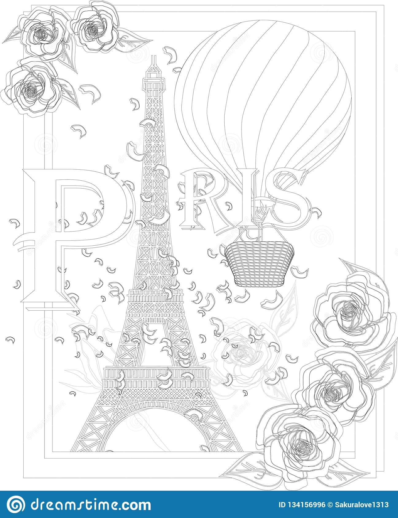 Eiffel-Tower-Coloring-Pages – Sustainable St Albans | 1689x1297