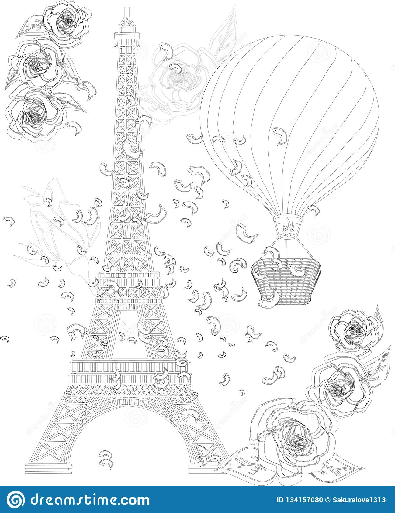 Eiffel-Tower-Coloring-Pages – Sustainable St Albans | 1689x1299