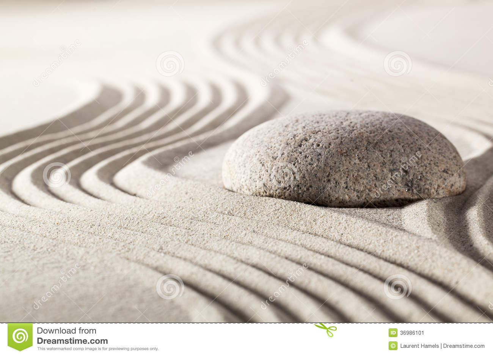 Zen attitude facing challenge stock image image 36986101 - Symbole zen attitude ...