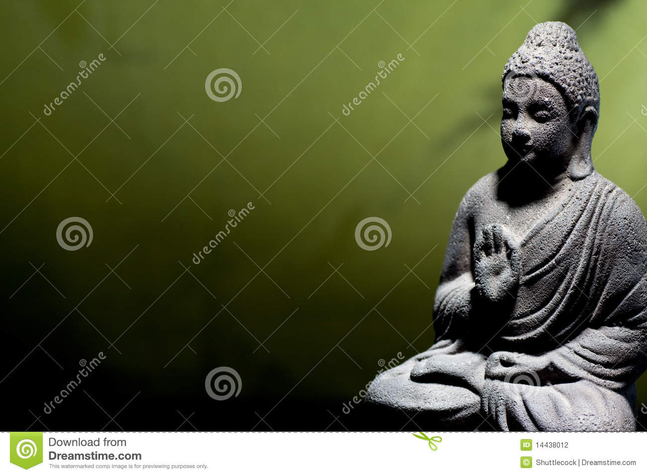zen buddha statue stock photo image of buddha peace 14438012. Black Bedroom Furniture Sets. Home Design Ideas