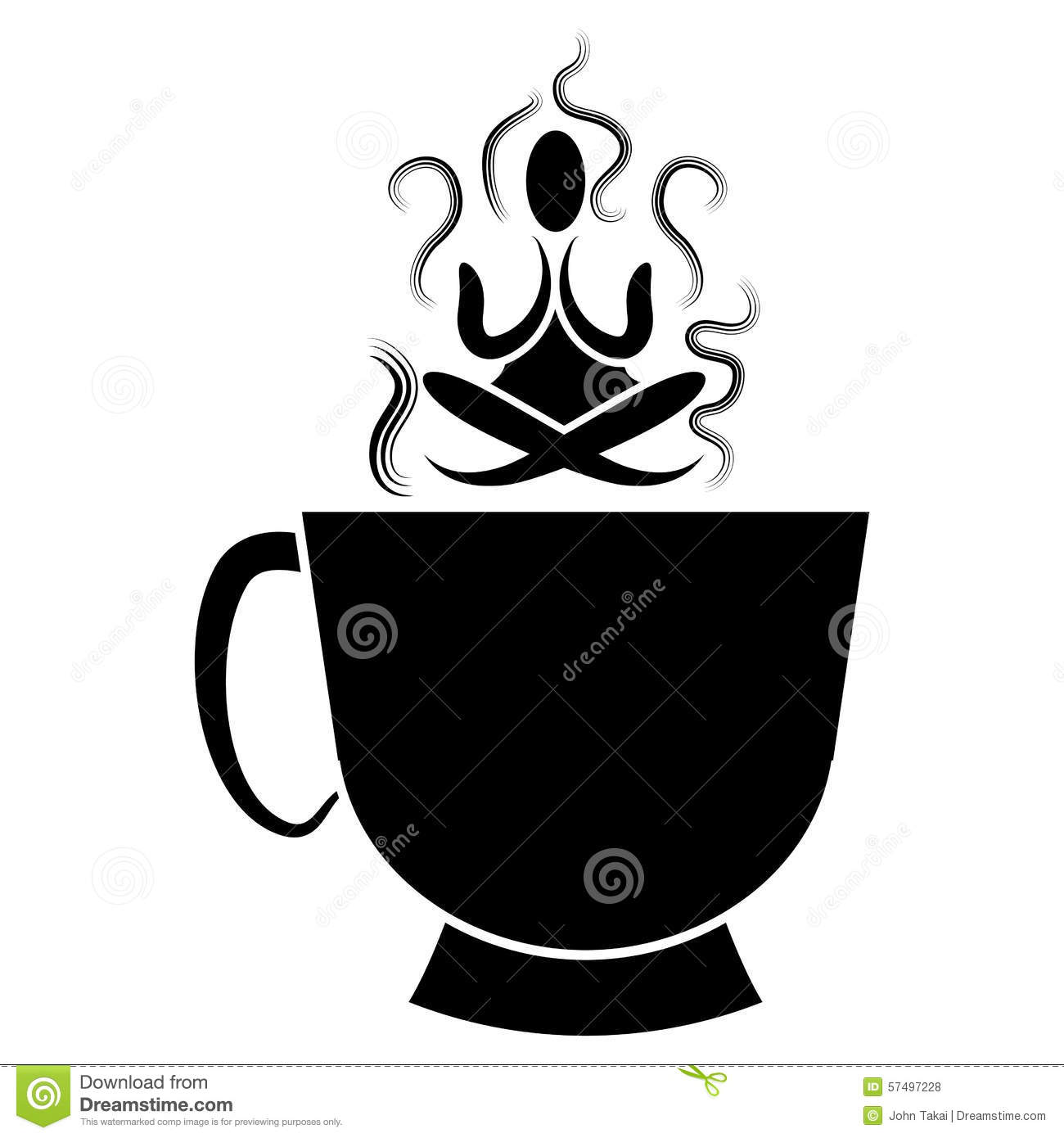Zen Buddhism Abstract Icon Stock Vector Illustration Of China