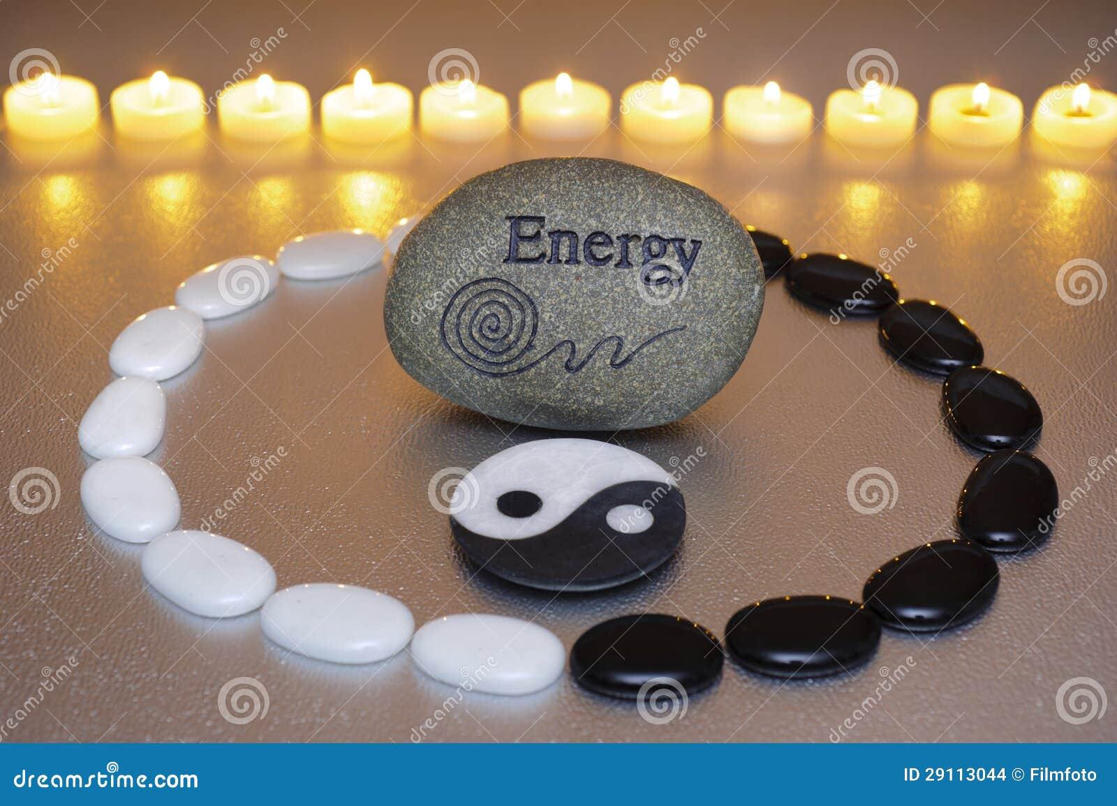 Zen con energia e yin e yang