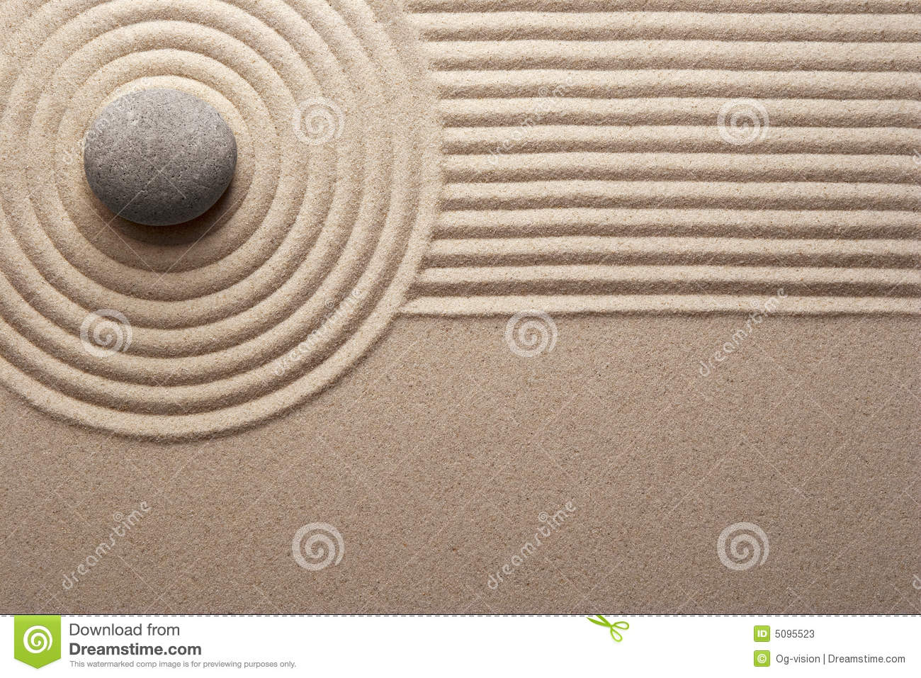 Zen garden stock image. Image of concept, miniature, still - 5095523