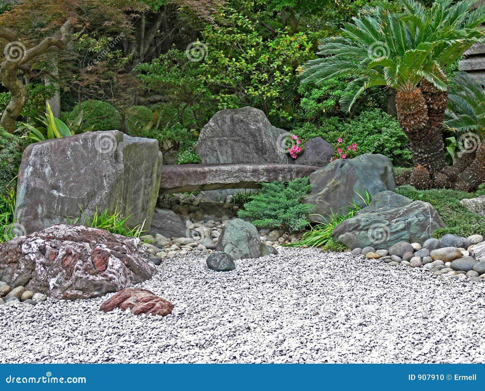 Zen Garden Stock Photo Image 907910