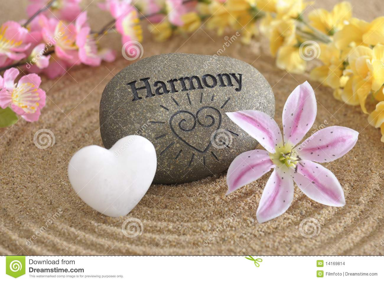Zen Garden In Harmony Stock Images - Image: 14169814