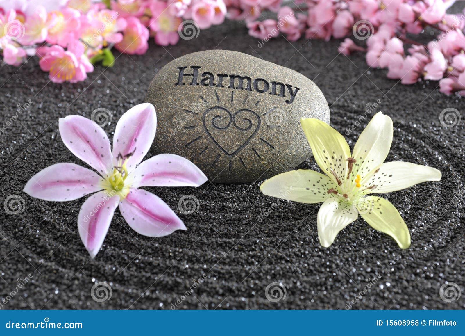 Zen Garden Of Harmony Royalty Free Stock Photos Image
