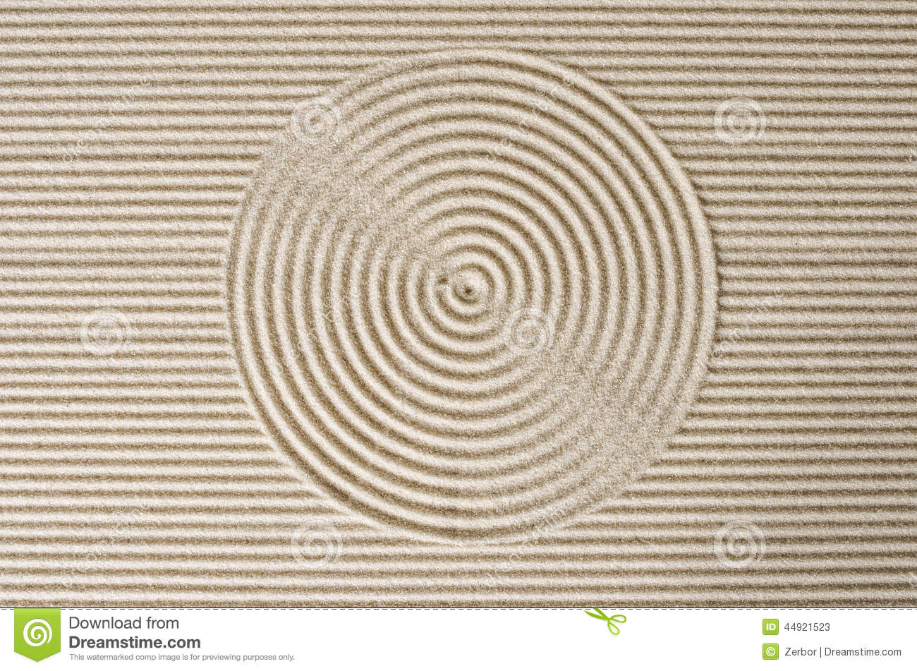 Zen Garden Stock Image Image Of Japanese Peaceful Sand