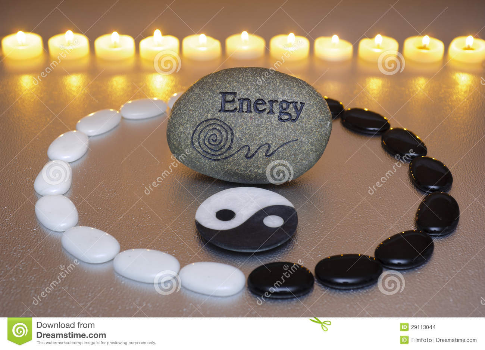 Zen med energi och yin och yang