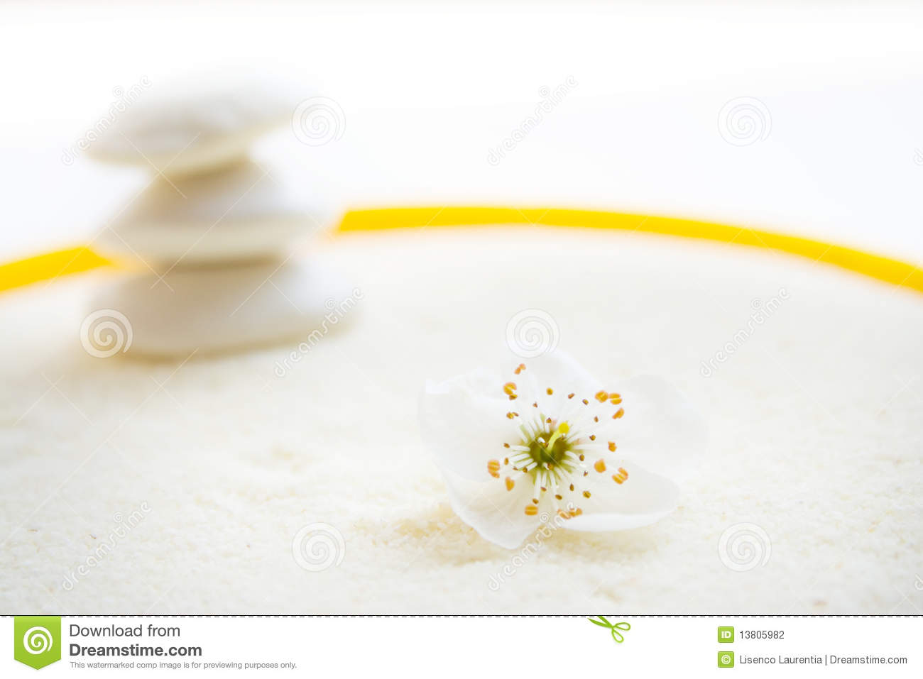 The Zen Peace Stock Photography Image 13805982