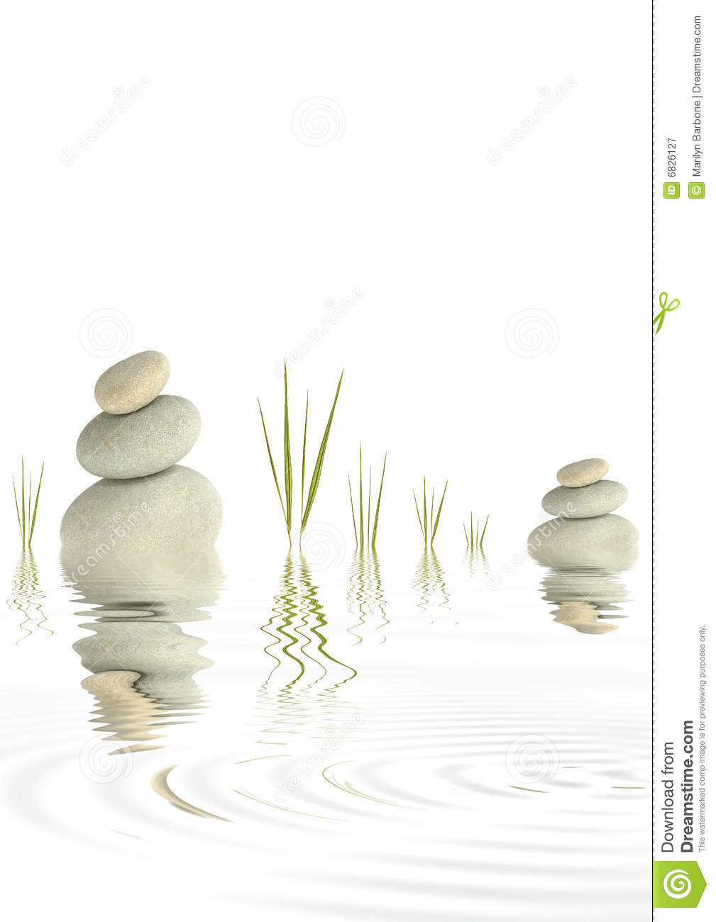 Zen Peace Royalty Free Stock Photography Image 6826127