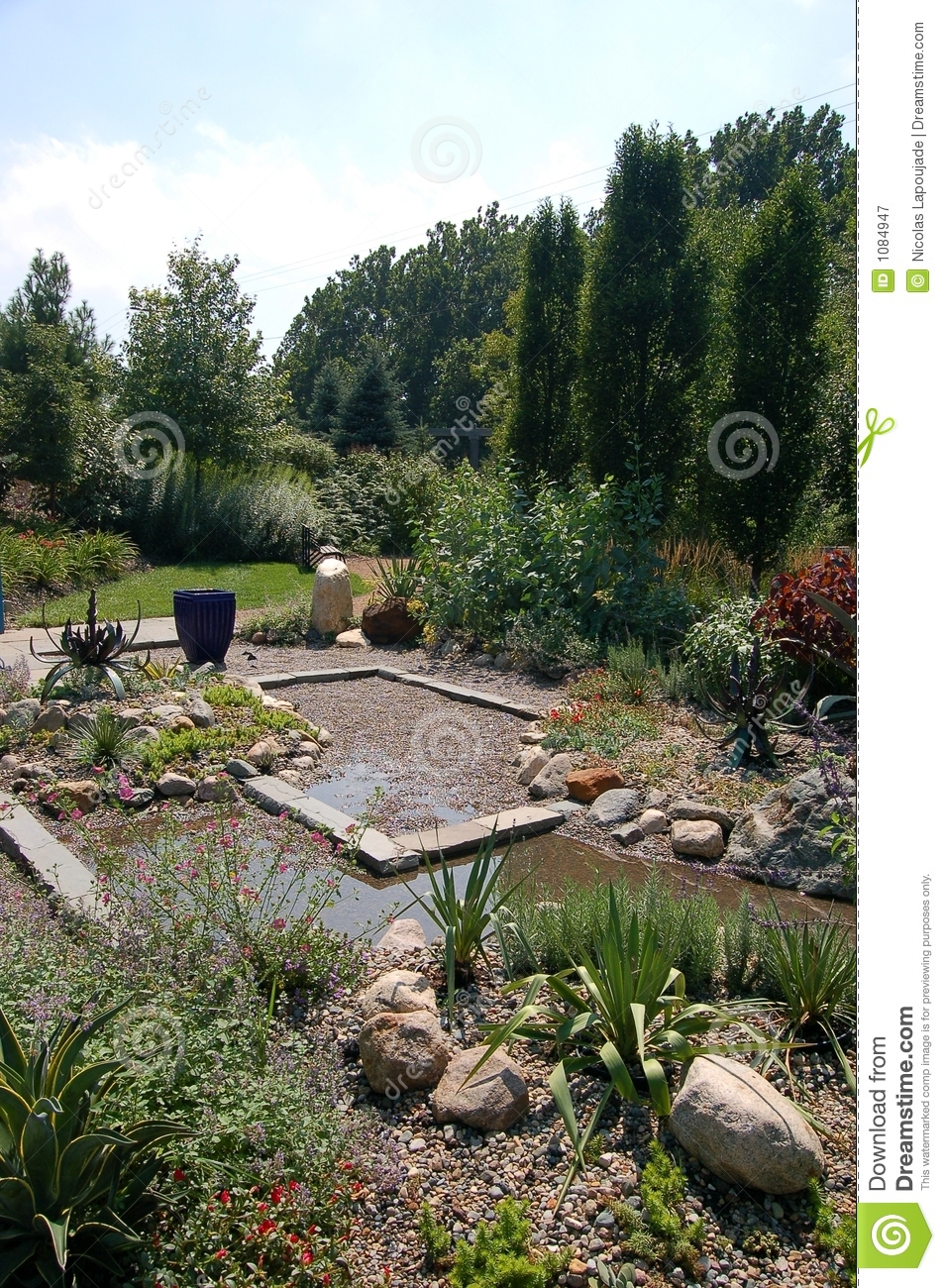 Zen pond royalty free stock photography image 1084947 for Garden pool zen area