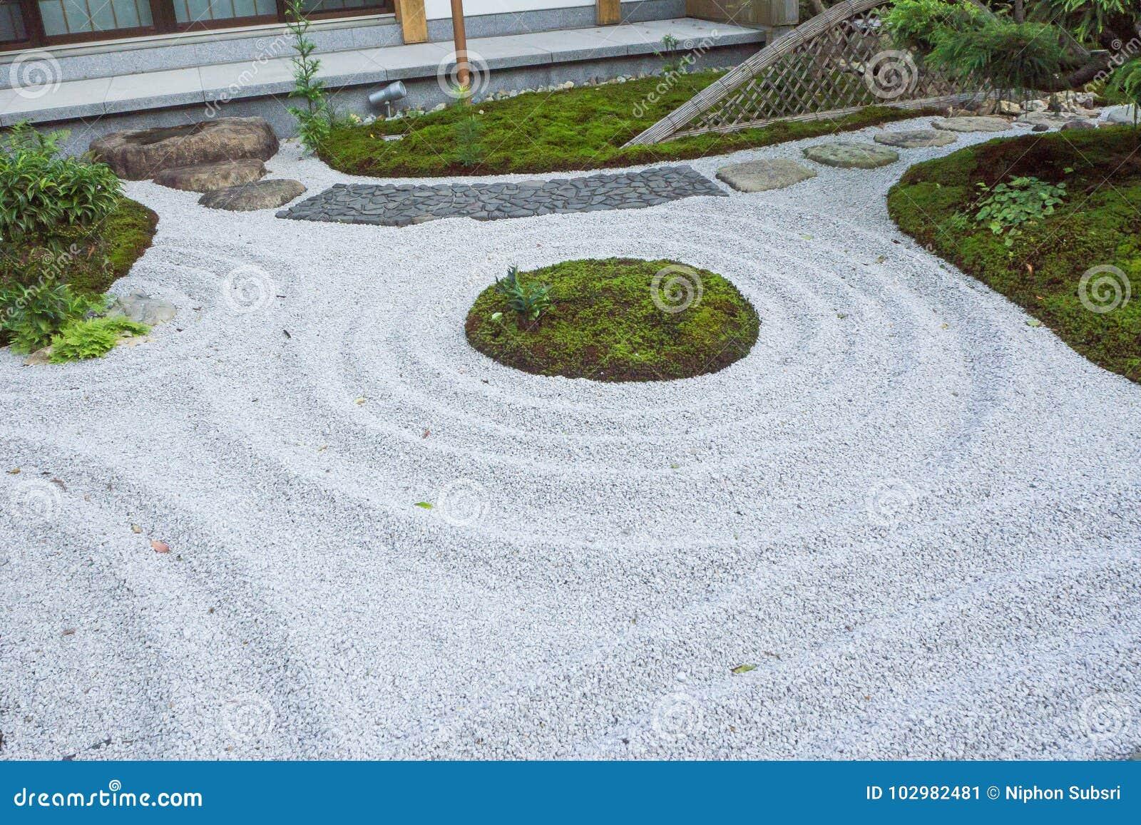 download the zen rock garden japanese style kamakura japan stock image image of garden - Zen Rock Garden