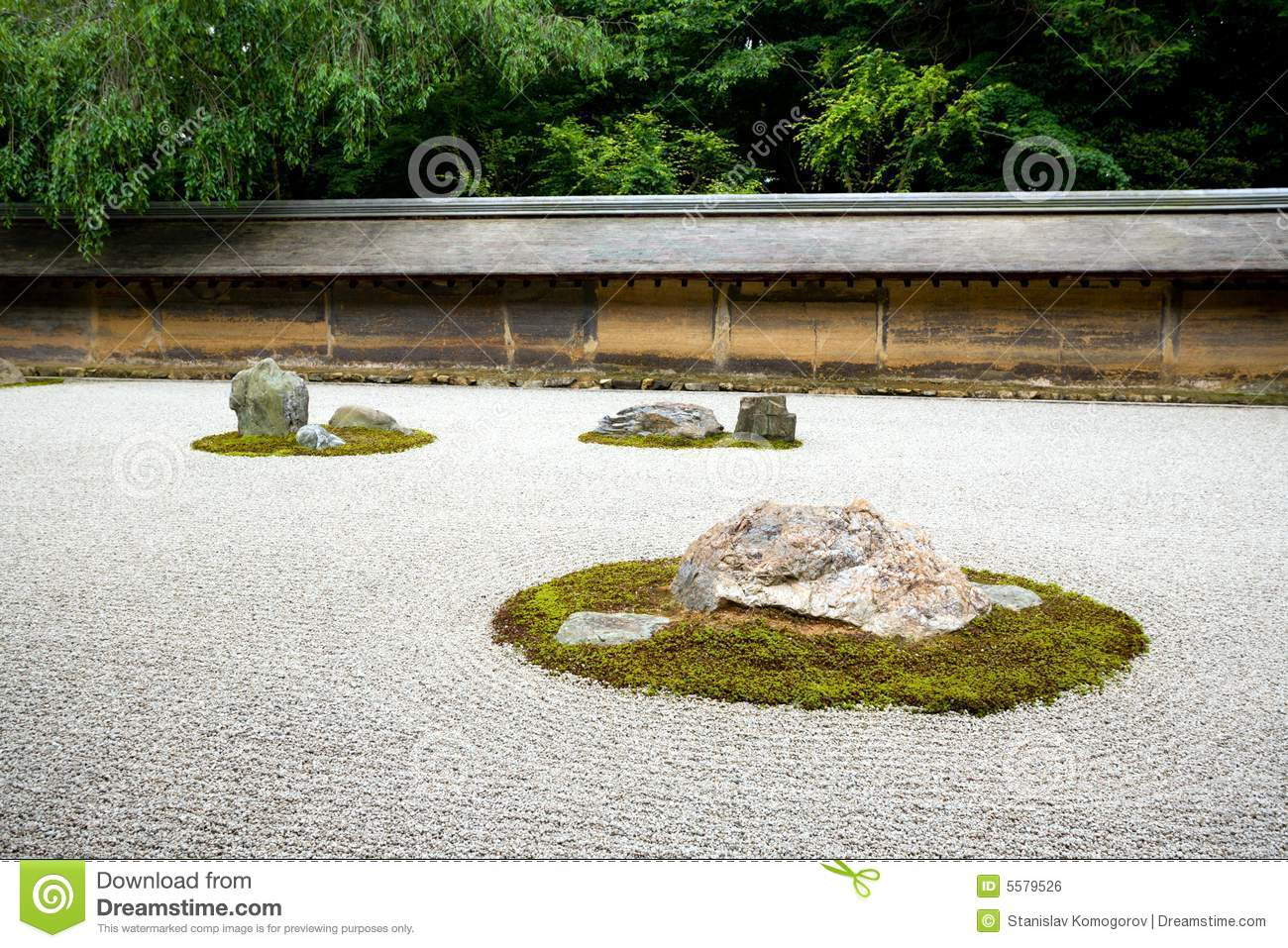 Zen rock garden kyoto japan stock photo image 5579526 Pictures of zen rock gardens