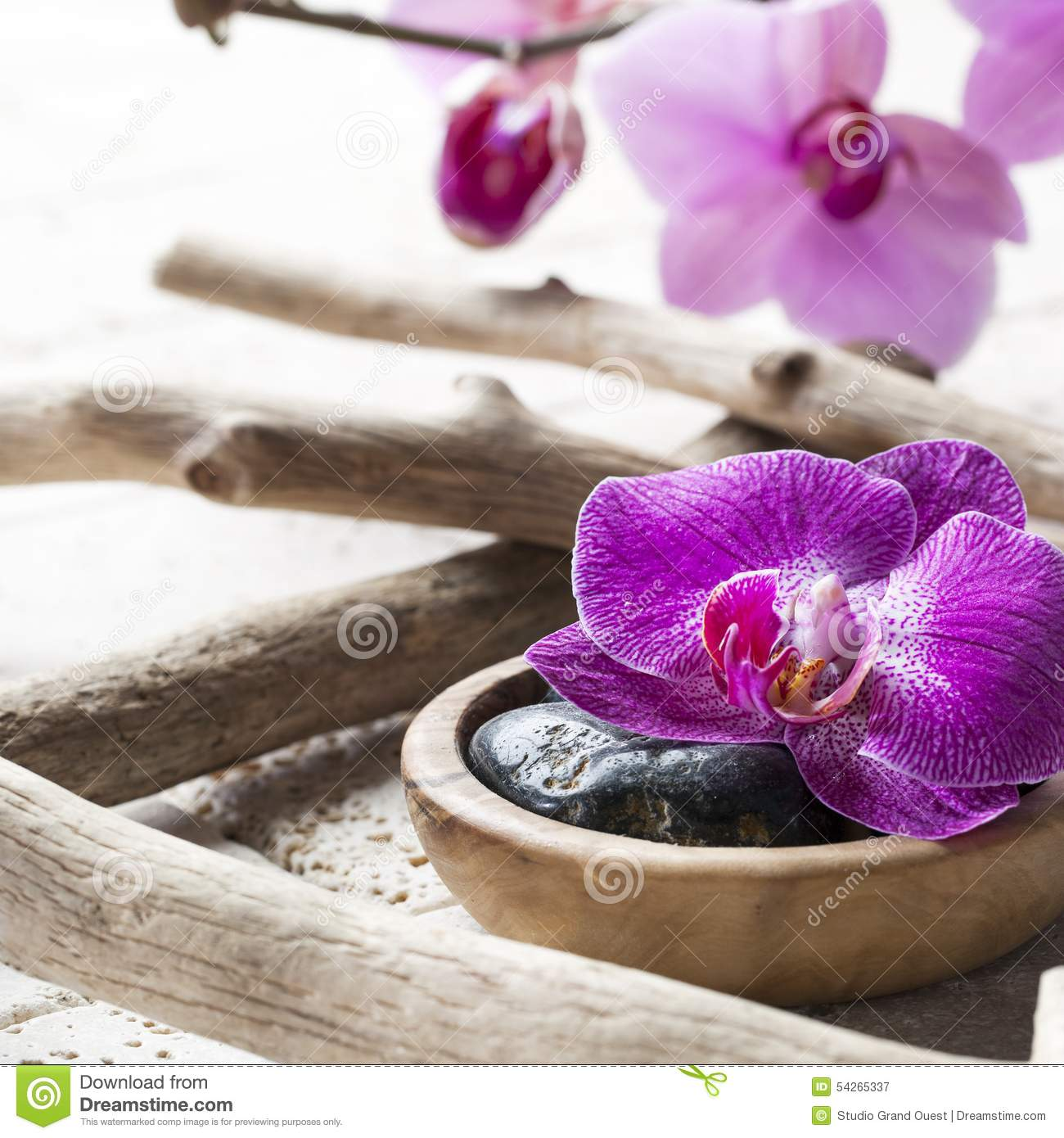 zen spa decor for ayurveda spirit stock photo image 54265337. Black Bedroom Furniture Sets. Home Design Ideas
