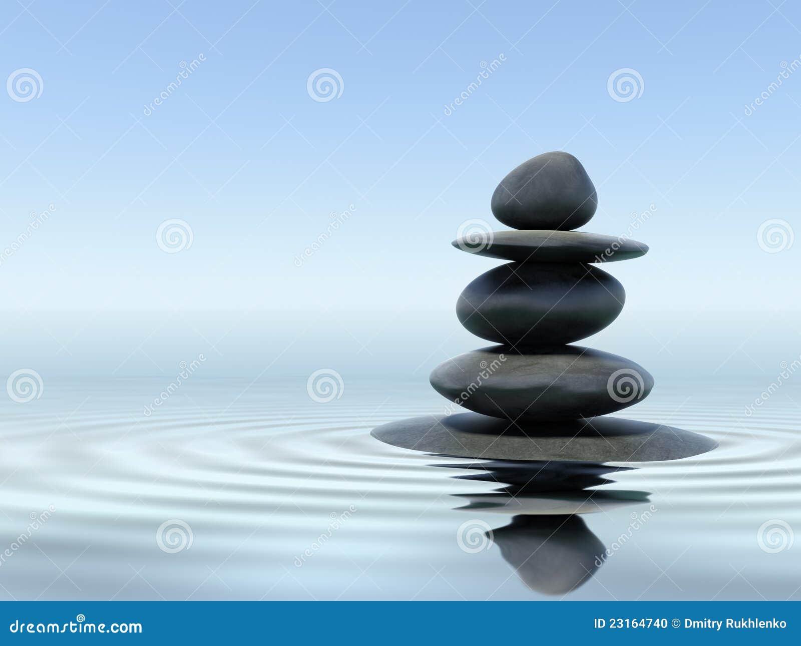 Download Zen stones stock photo. Image of meditation, meditative - 23164740