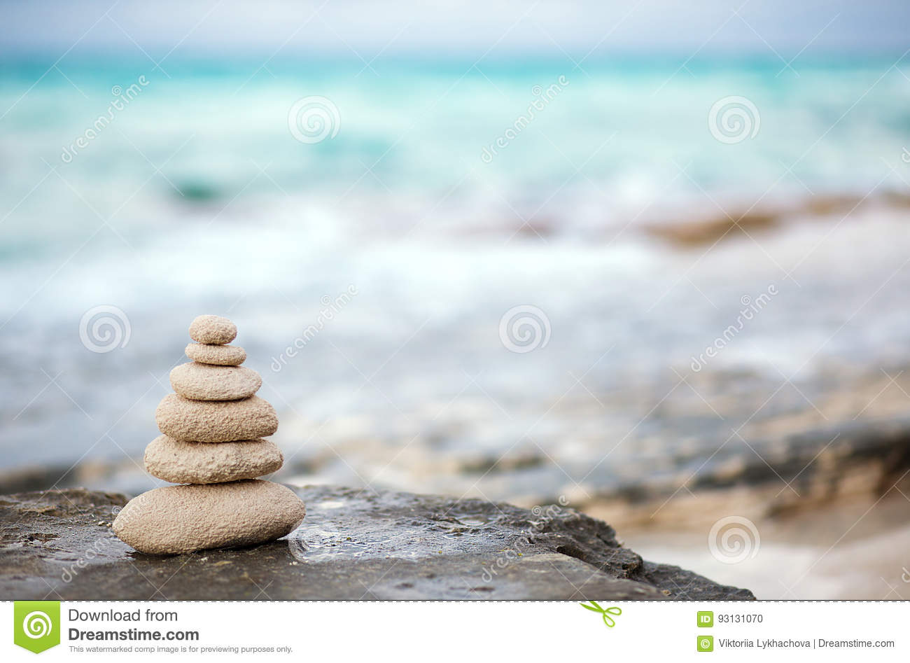Download Zen Stones, Background Ocean, See, Place  For The Perfect Meditation Stock Photo - Image of coral, reality: 93131070