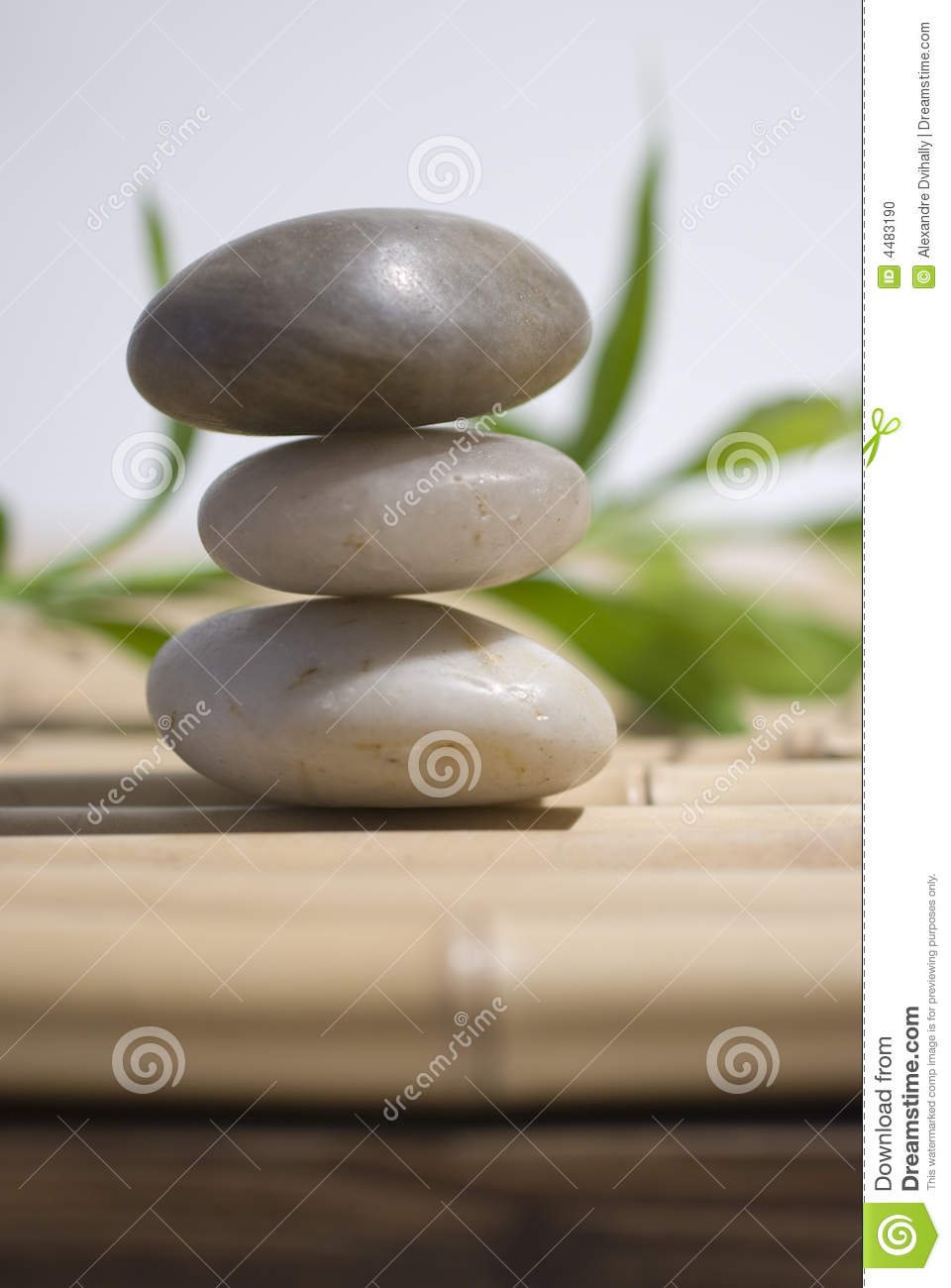 zen stones and bamboo - photo #20