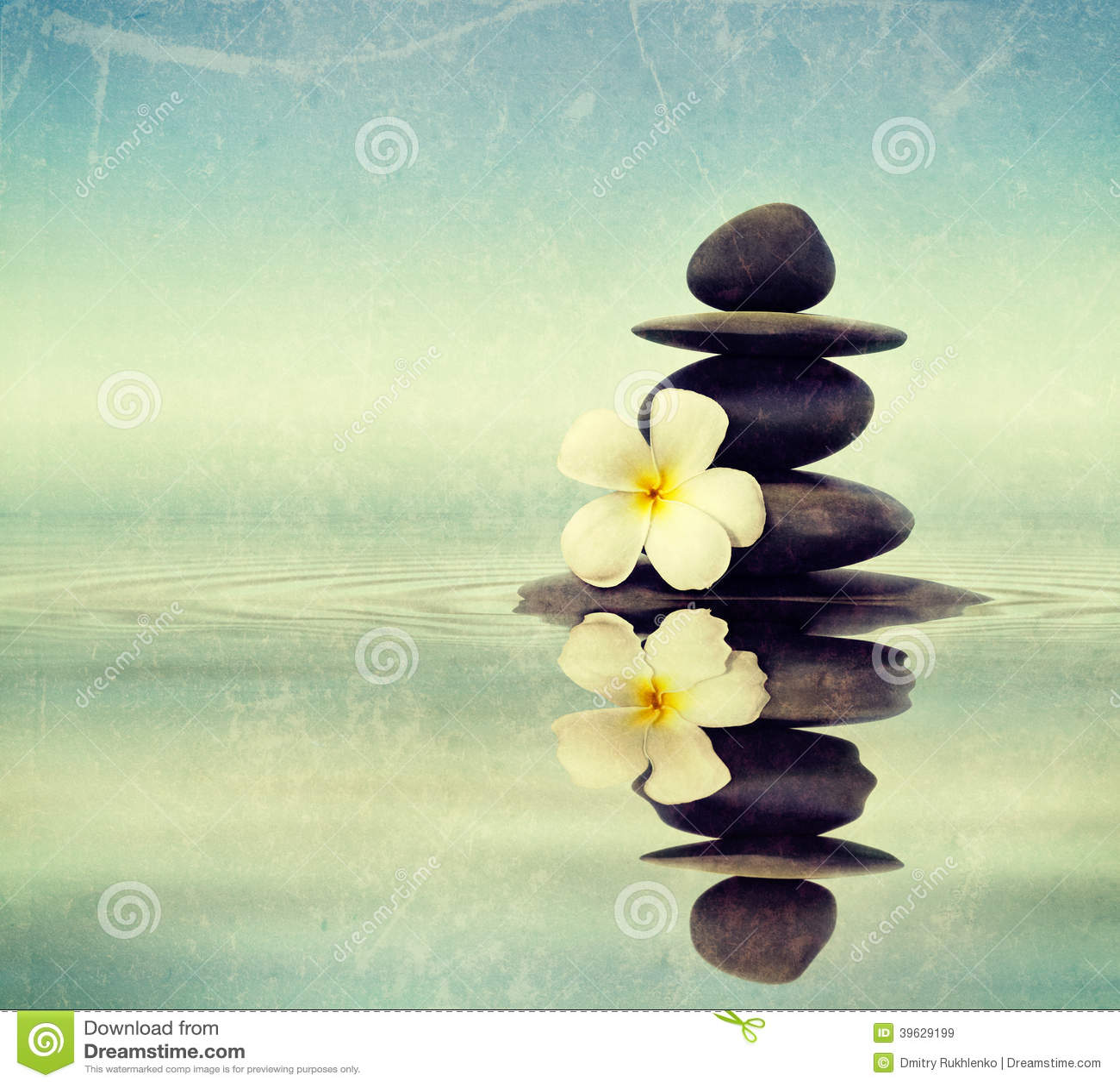 water flower massage