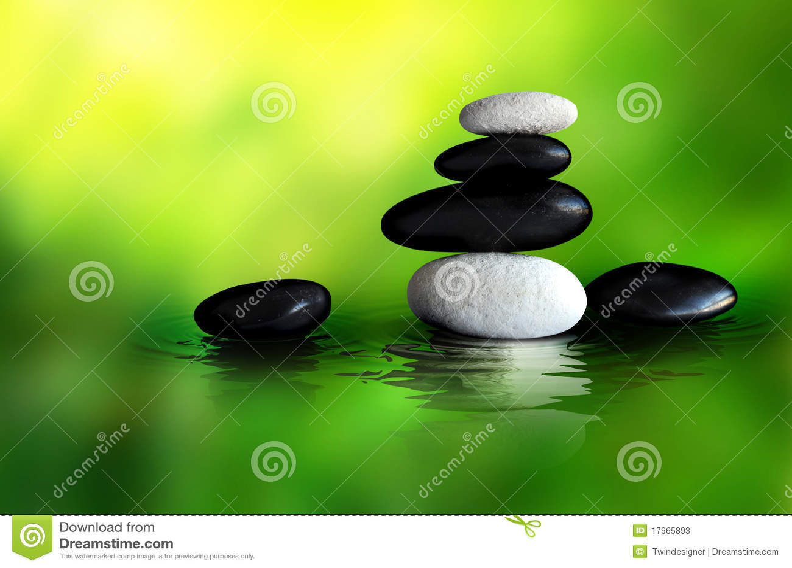 Zen Stones Setting
