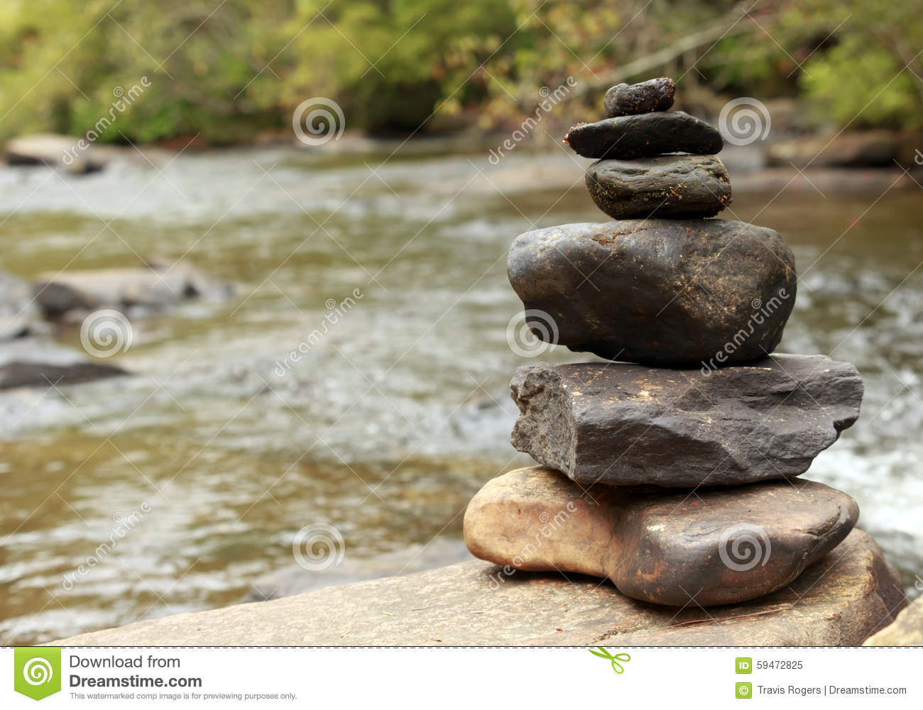 zen at the water stock photo   image 59472825