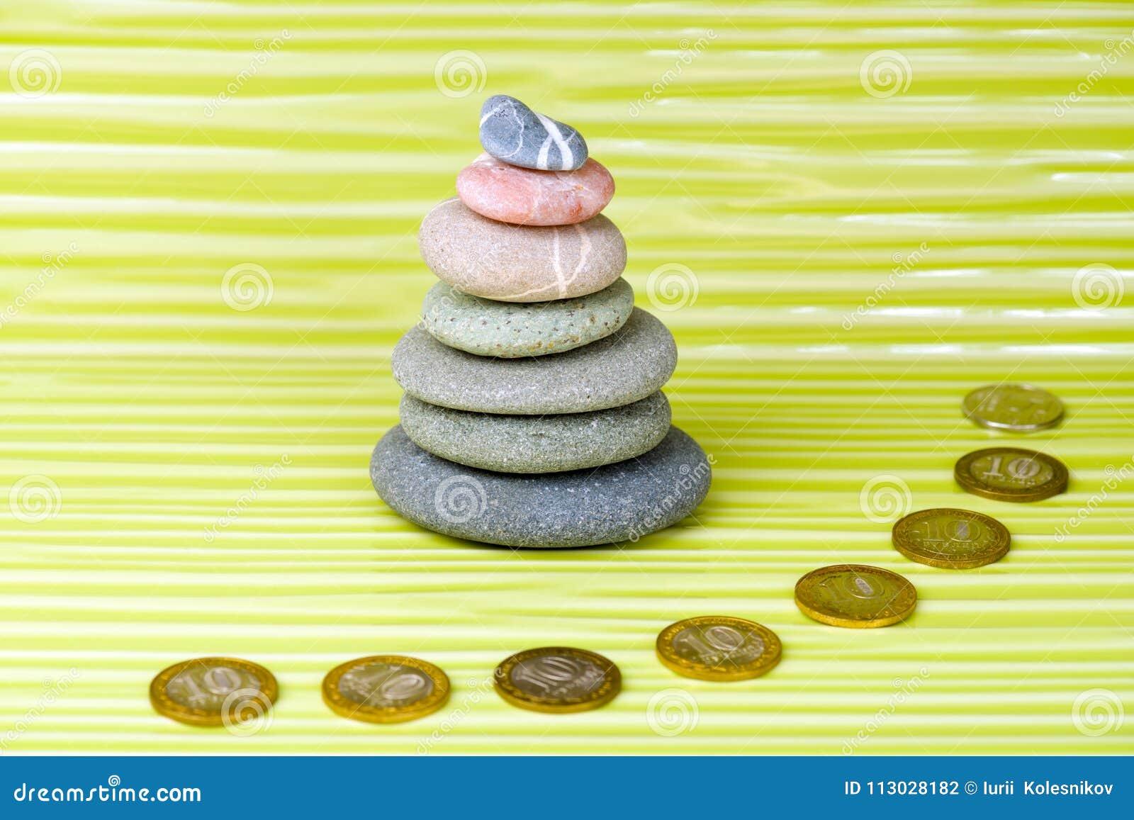 ZENES Stone y monedas multicolores