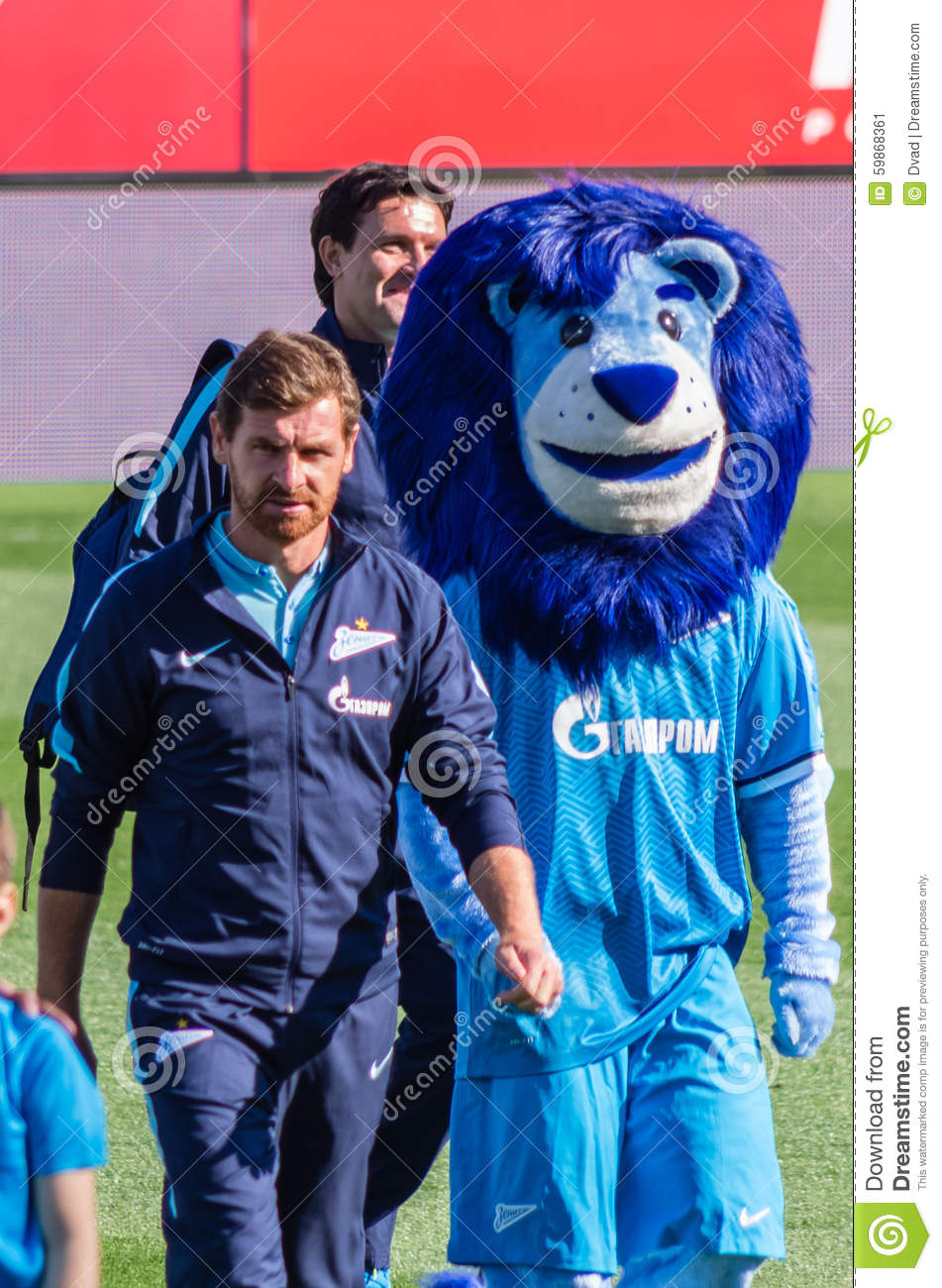 Zenit Saint Petersburg Head Coach Andre Villas Boas Editorial Photo Image Of Saint Arena 59868361