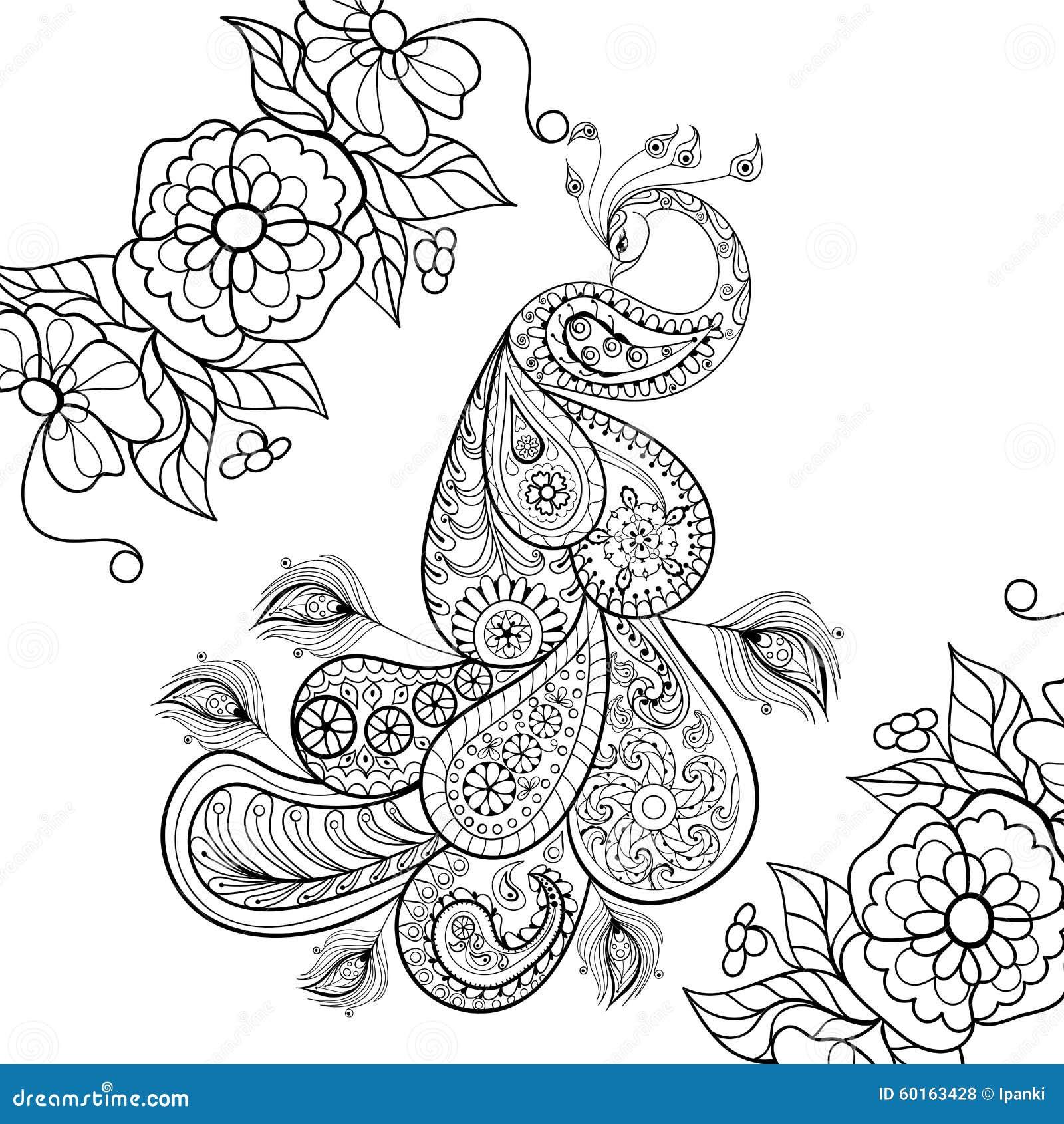 Mandala Kleurplaten Pauw.Kleurplaat Van Mandala Pauw Mandala Ausmalbilder Fr Erwachsene