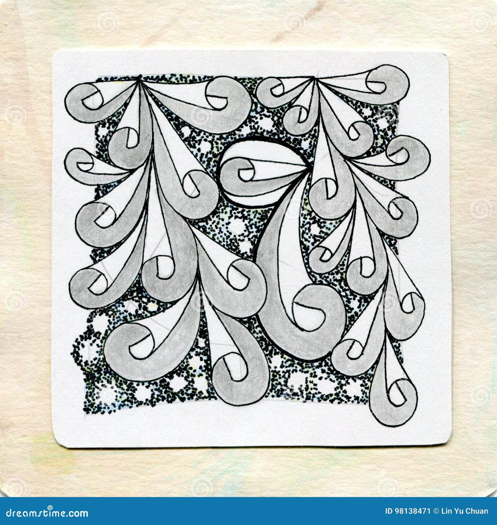 Zentangle art doodle tattoos
