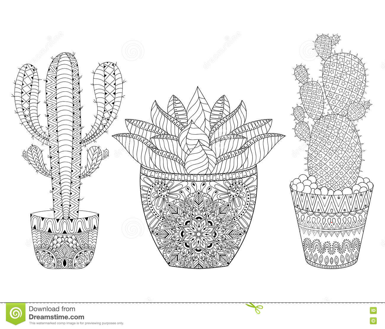 mexico coloring book vector illustration stock vector image